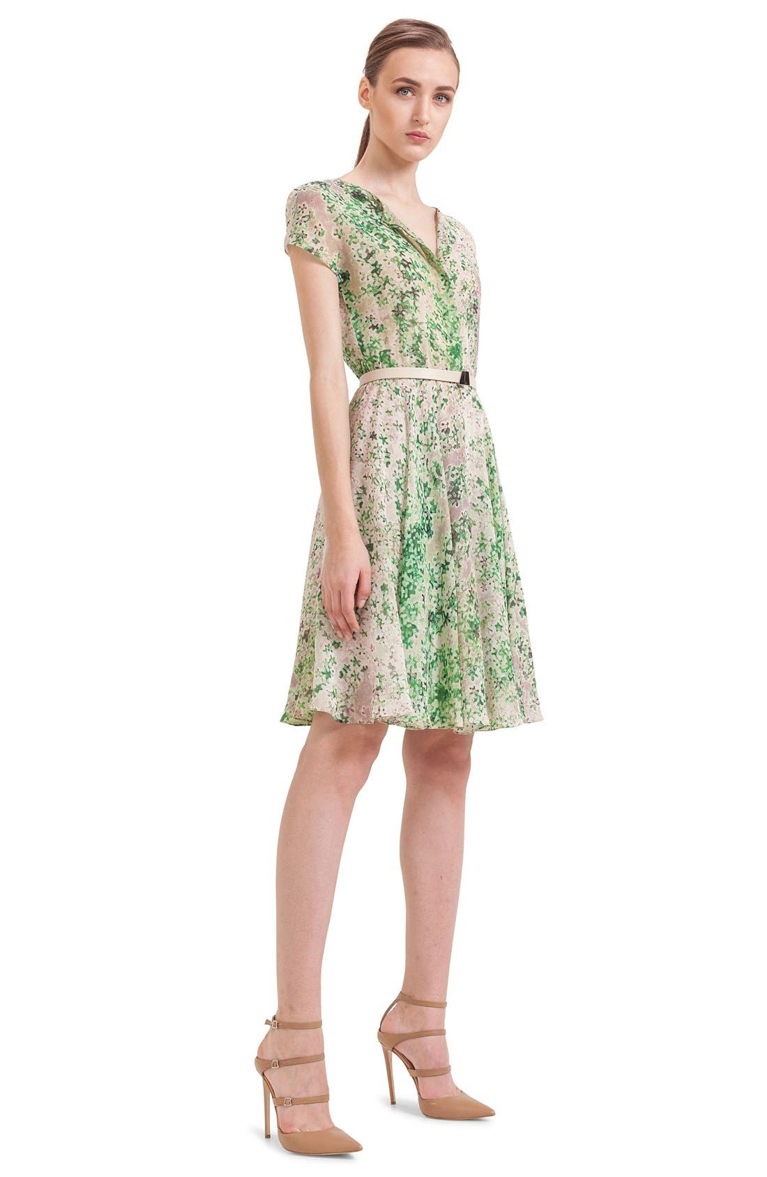 Alternate Image 4  - Akris Print Silk A-Line Shirtdress