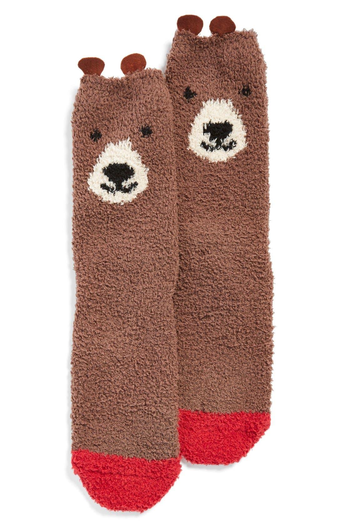 Alternate Image 3  - PJ Salvage 'Cozy Plush Bear' Socks