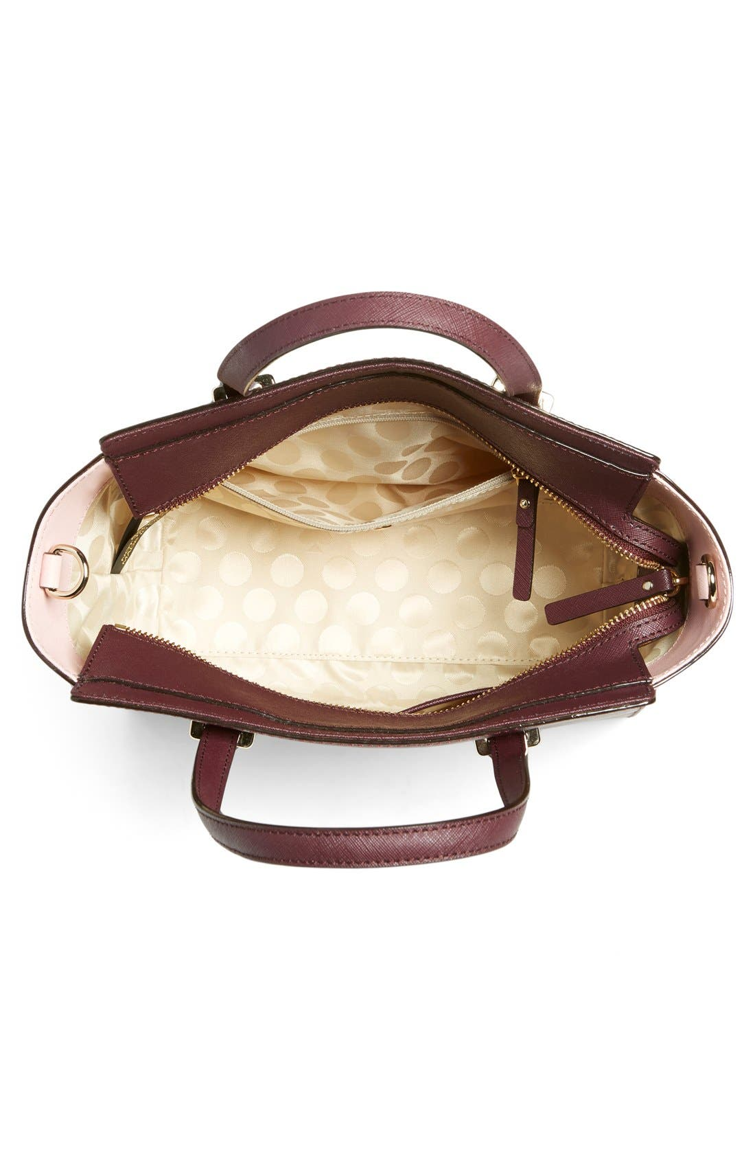 Alternate Image 4  - kate spade new york 'cedar street - small hayden' leather satchel