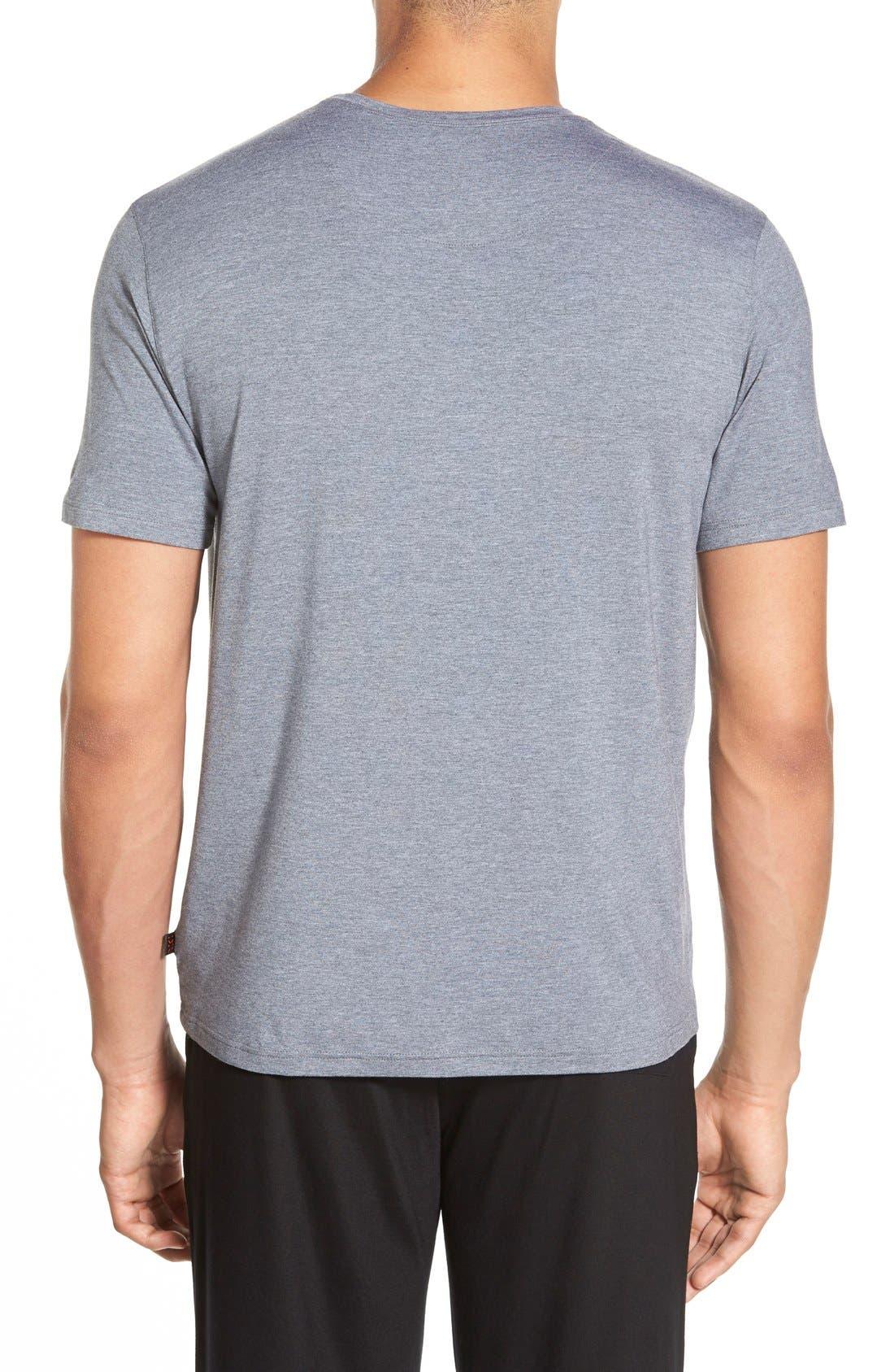 Alternate Image 2  - Derek Rose 'Marlowe' Stretch Modal T-Shirt