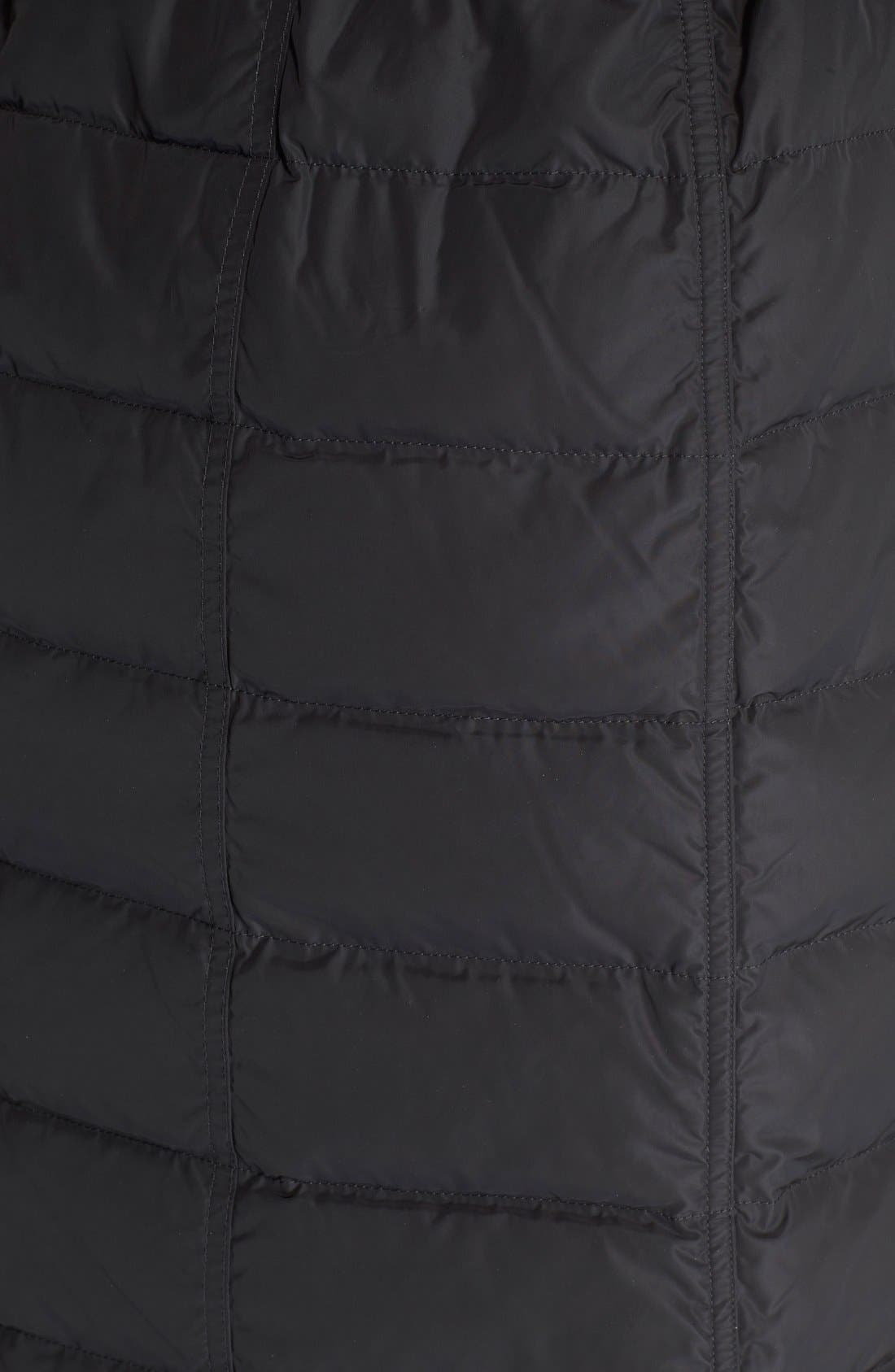 Alternate Image 3  - Burberry Brit 'Allerdale' Genuine Fox Fur Trim Hooded Quilted Down Coat
