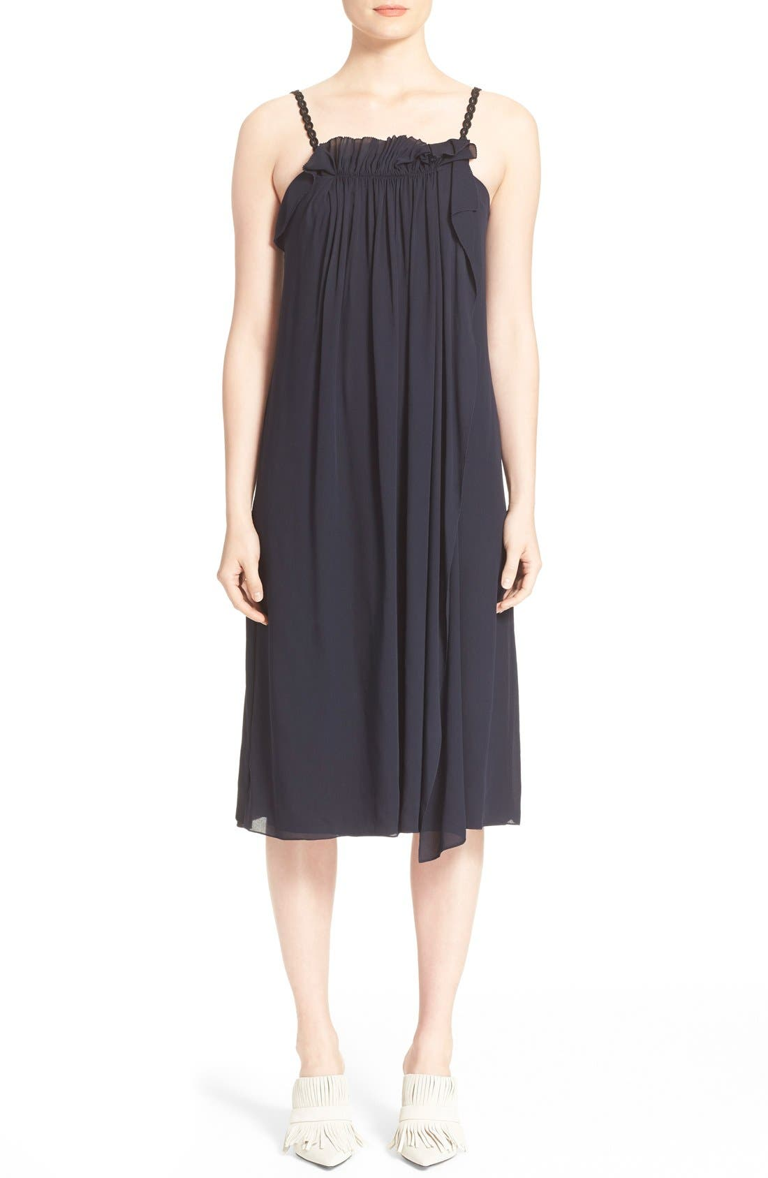 Alternate Image 1 Selected - 3.1 Phillip Lim Passementerie Strap Silk Dress