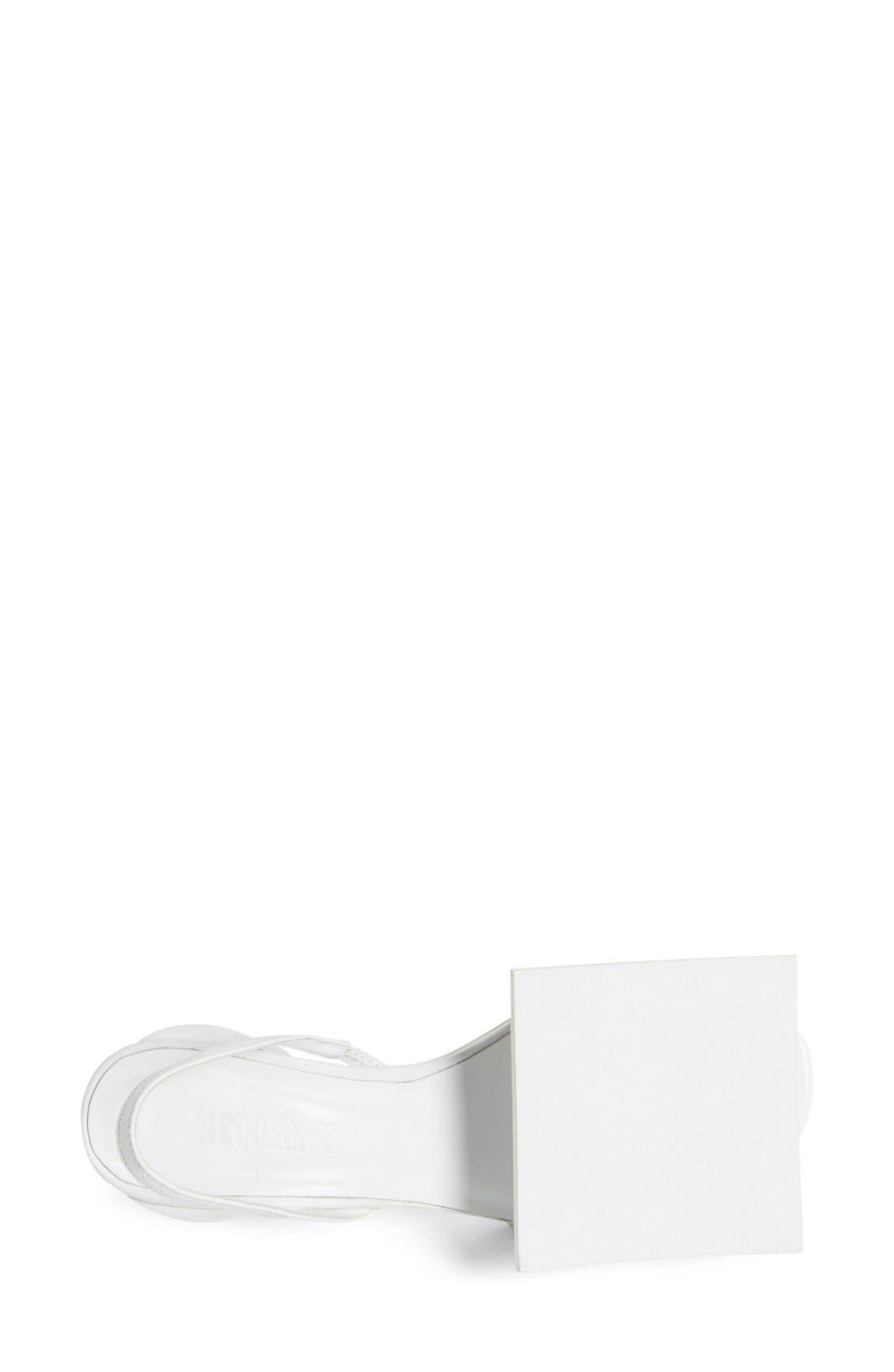Alternate Image 3  - Jacquemus 'Rond Carré' Slingback Sandal (Women)