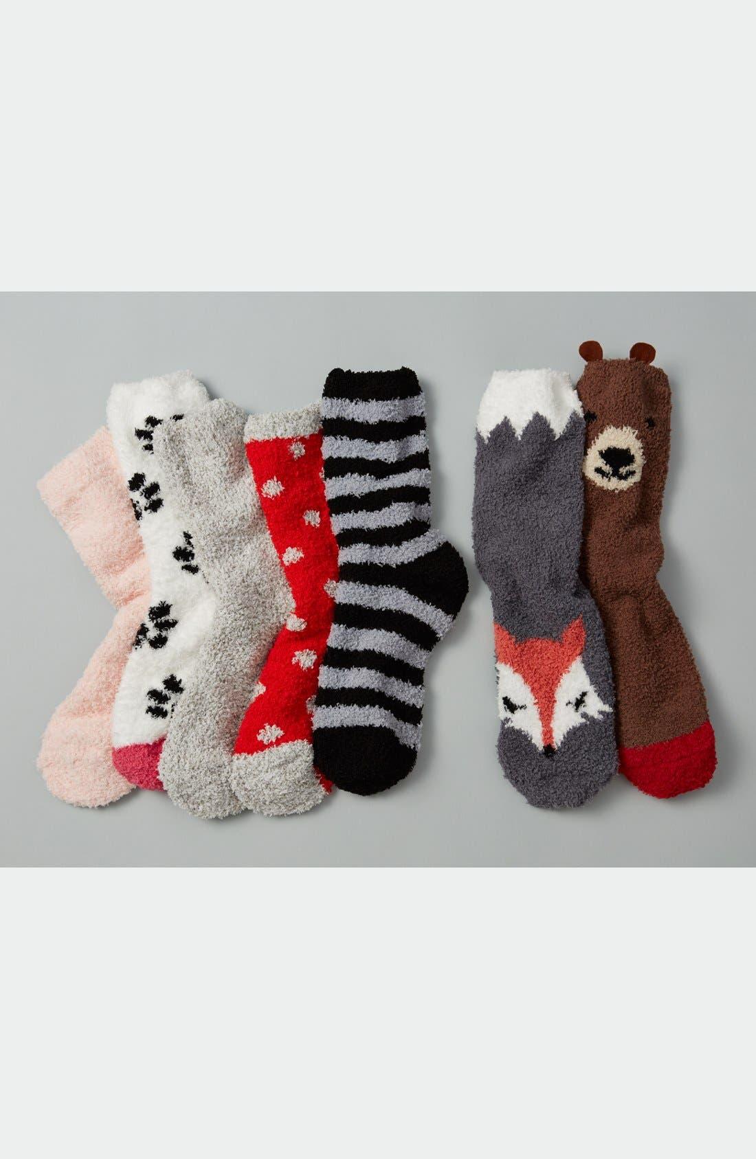 Alternate Image 5  - PJ Salvage 'Cozy Plush Bear' Socks