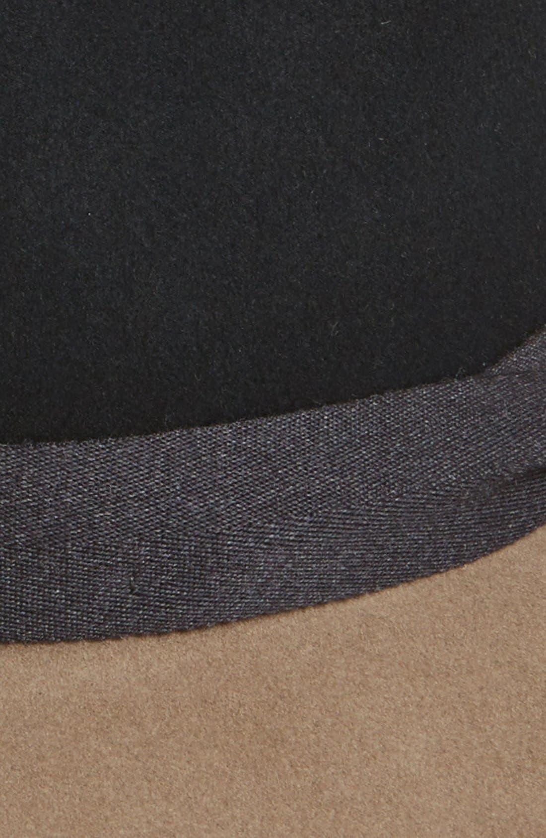 Alternate Image 2  - rag & bone Floppy Brim Wool Fedora