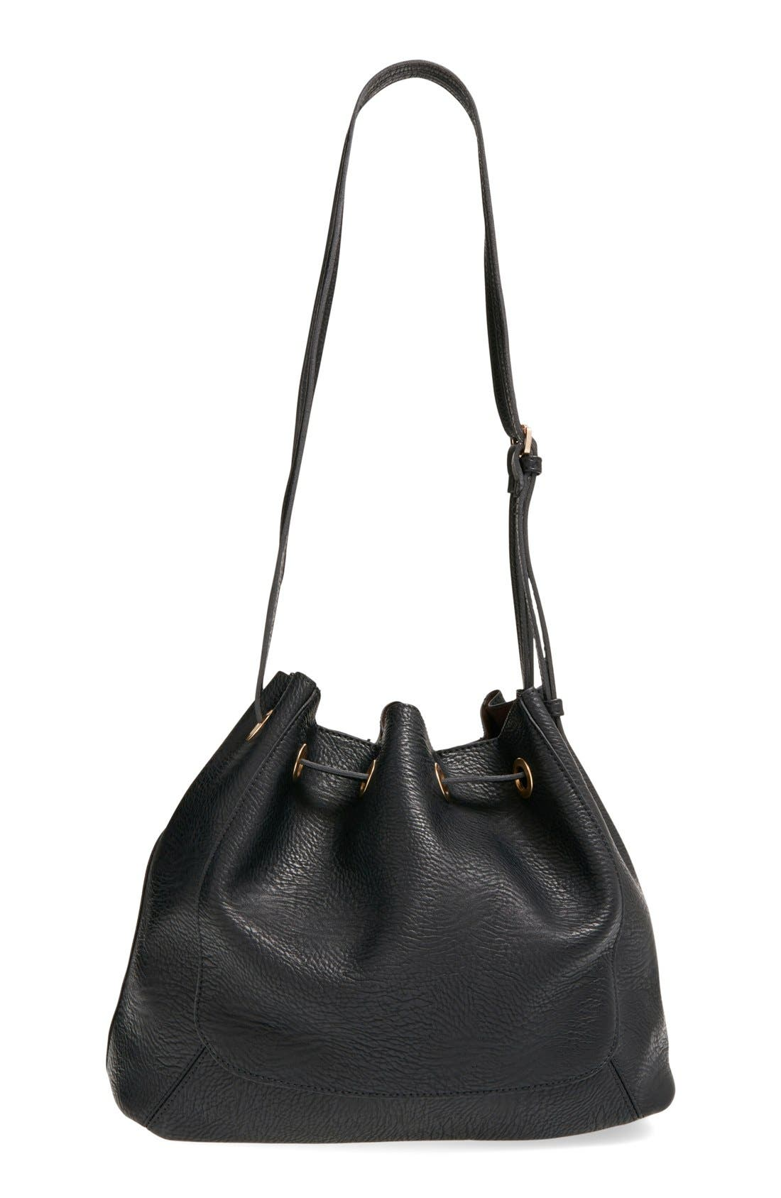 Alternate Image 3  - Street Level Faux Leather Shoulder Bag