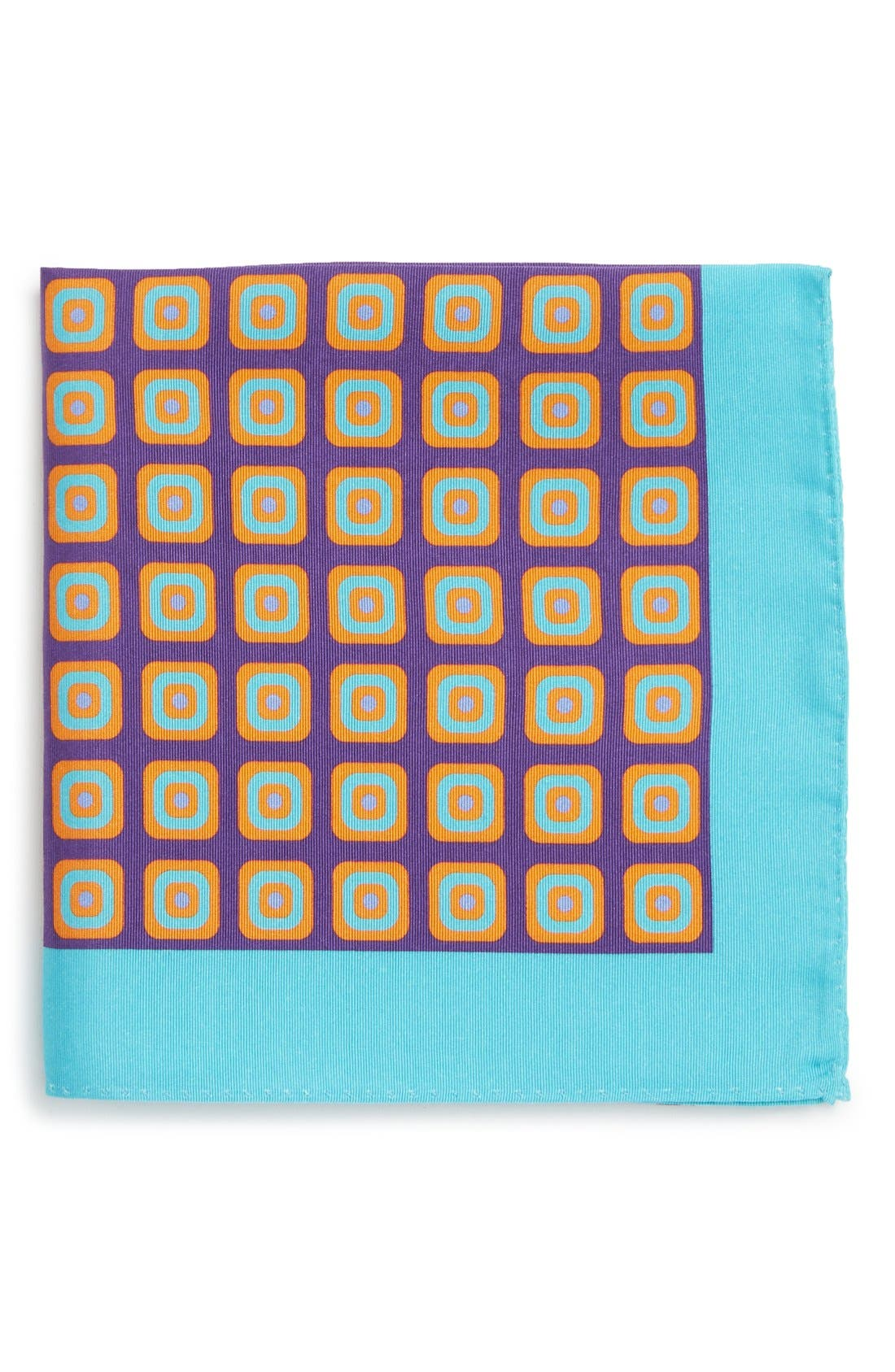 Ted Baker London 'Medallion' Silk Pocket Square