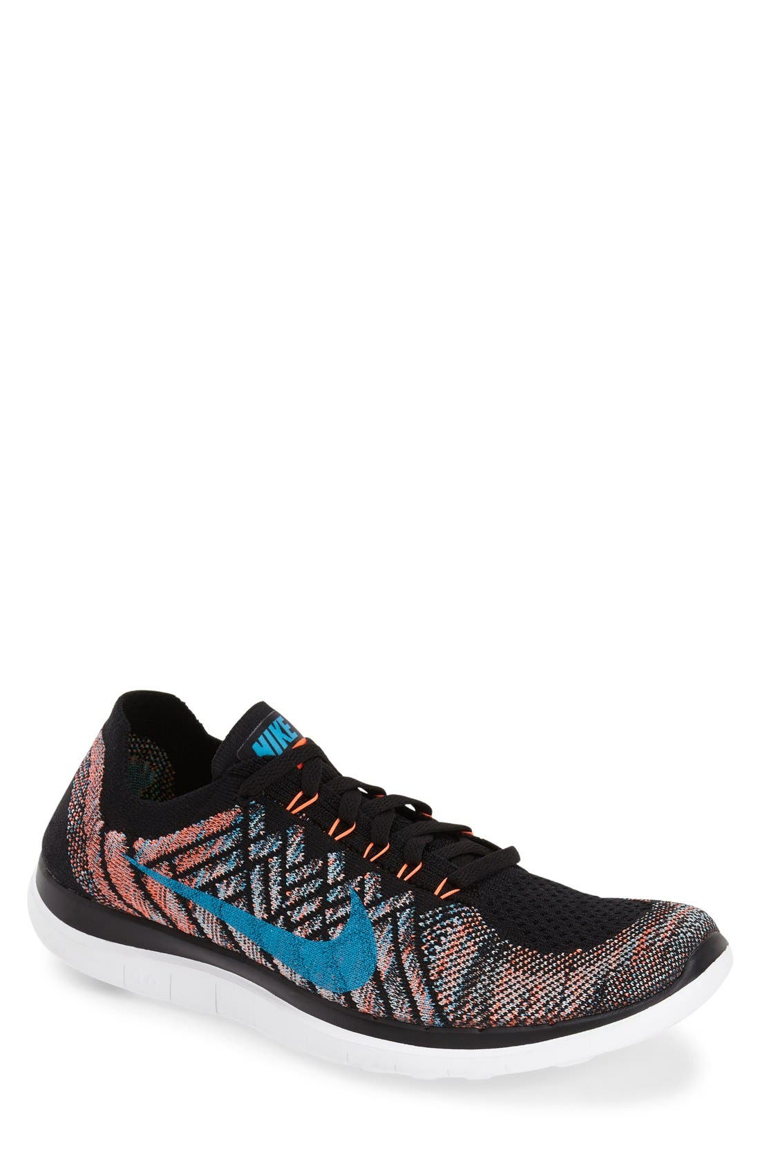 Main Image - Nike 'Free Flyknit 4.0' Running Shoe (Men)
