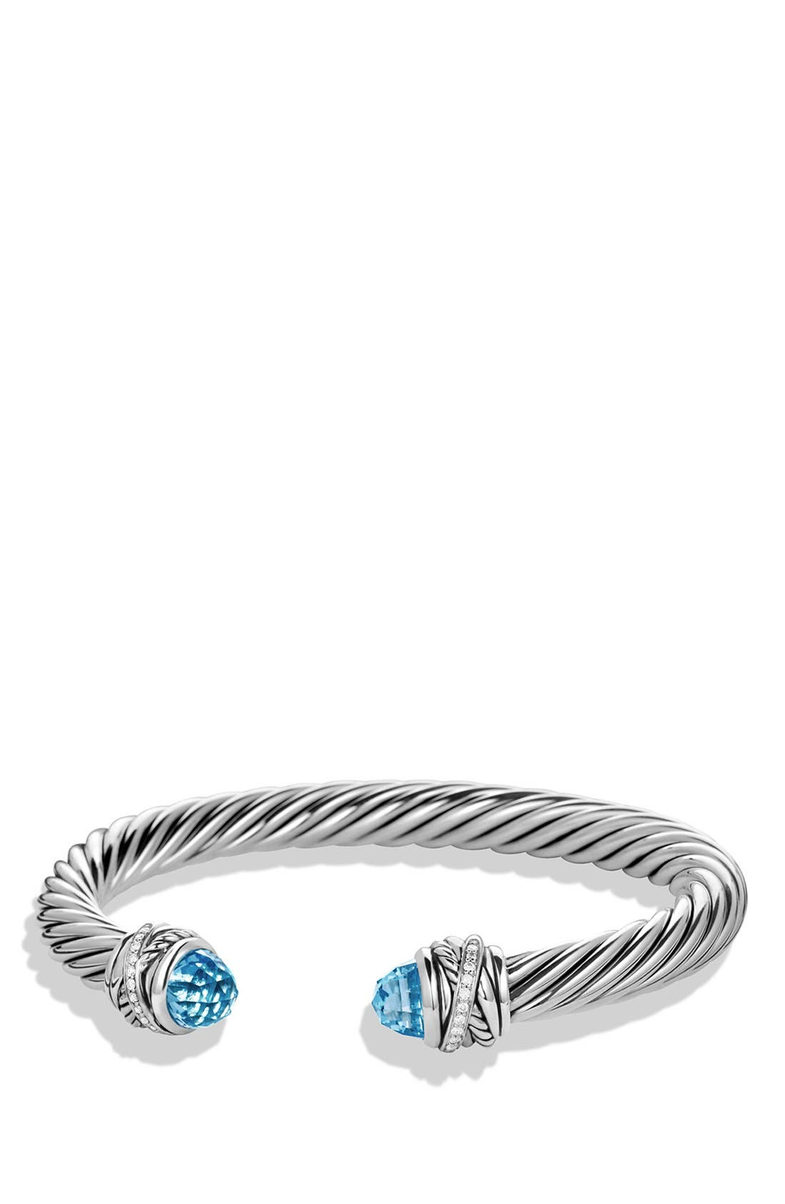 David Yurman 'Crossover' Bracelet with Diamonds