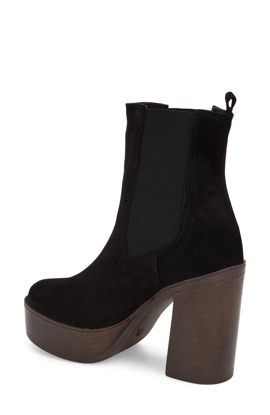 Alternate Image 2  - Topshop 'Holly 70s' Platform Boot (Women)