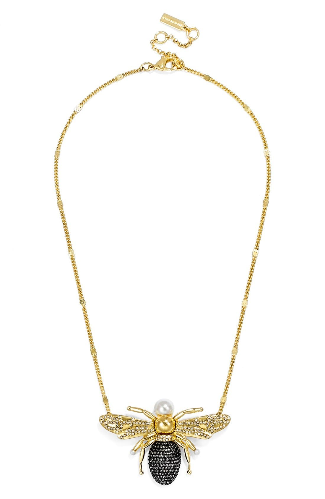 Alternate Image 3  - BaubleBar x Olivia Palermo 'Queen Bee' Pendant Necklace