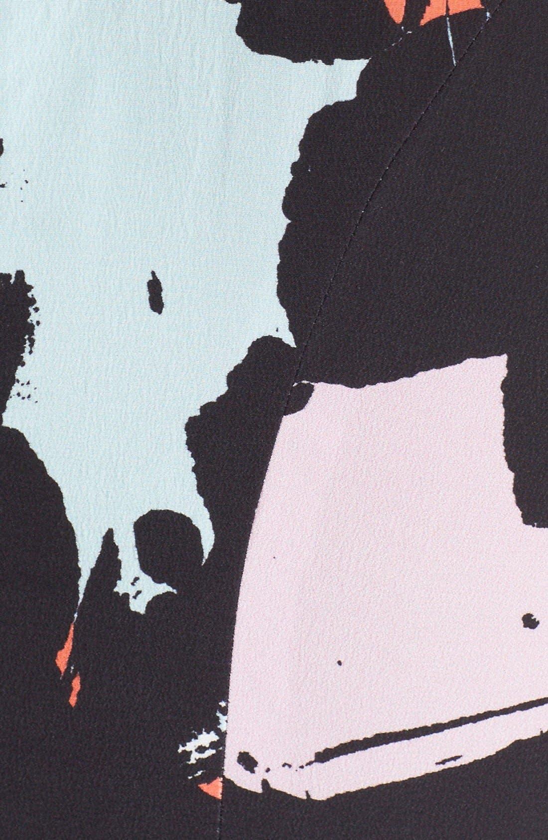 Alternate Image 5  - Hunter Bell 'Maggy' Print Silk Romper
