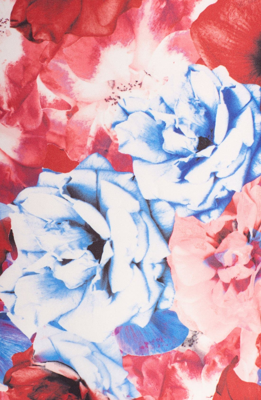 Alternate Image 5  - Vince Camuto Floral Print Stretch Midi Dress (Regular & Petite)