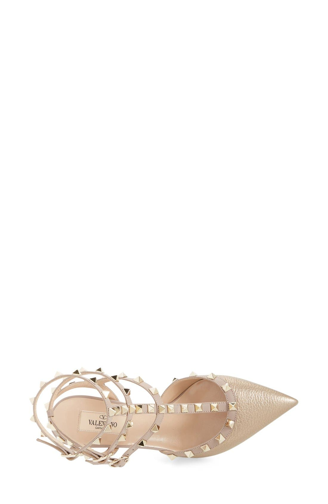 Alternate Image 3  - Valentino 'Rockstud' T-Strap Pump (Women)