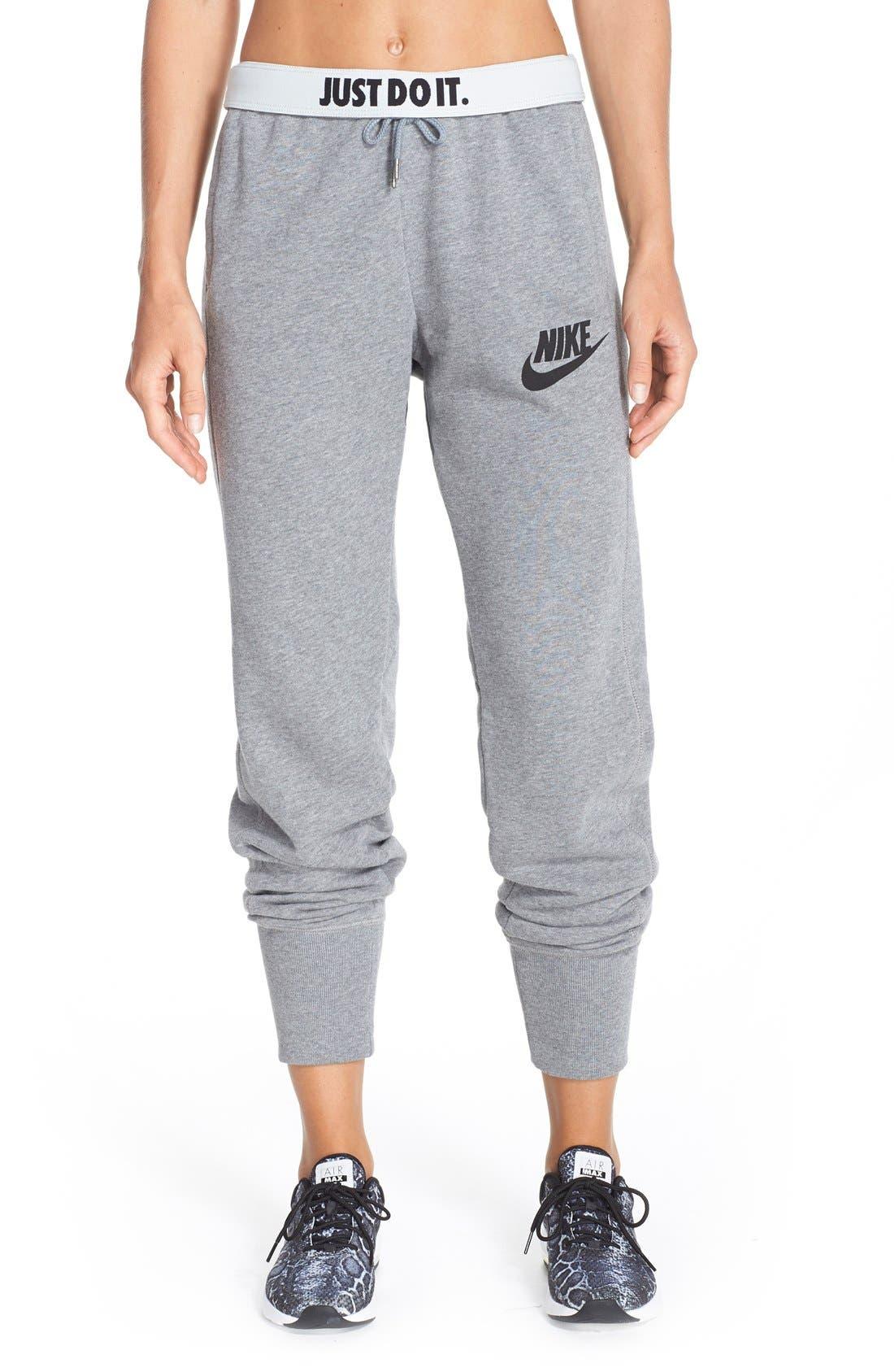 Alternate Image 1 Selected - Nike 'Rally' Jogger Sweatpants