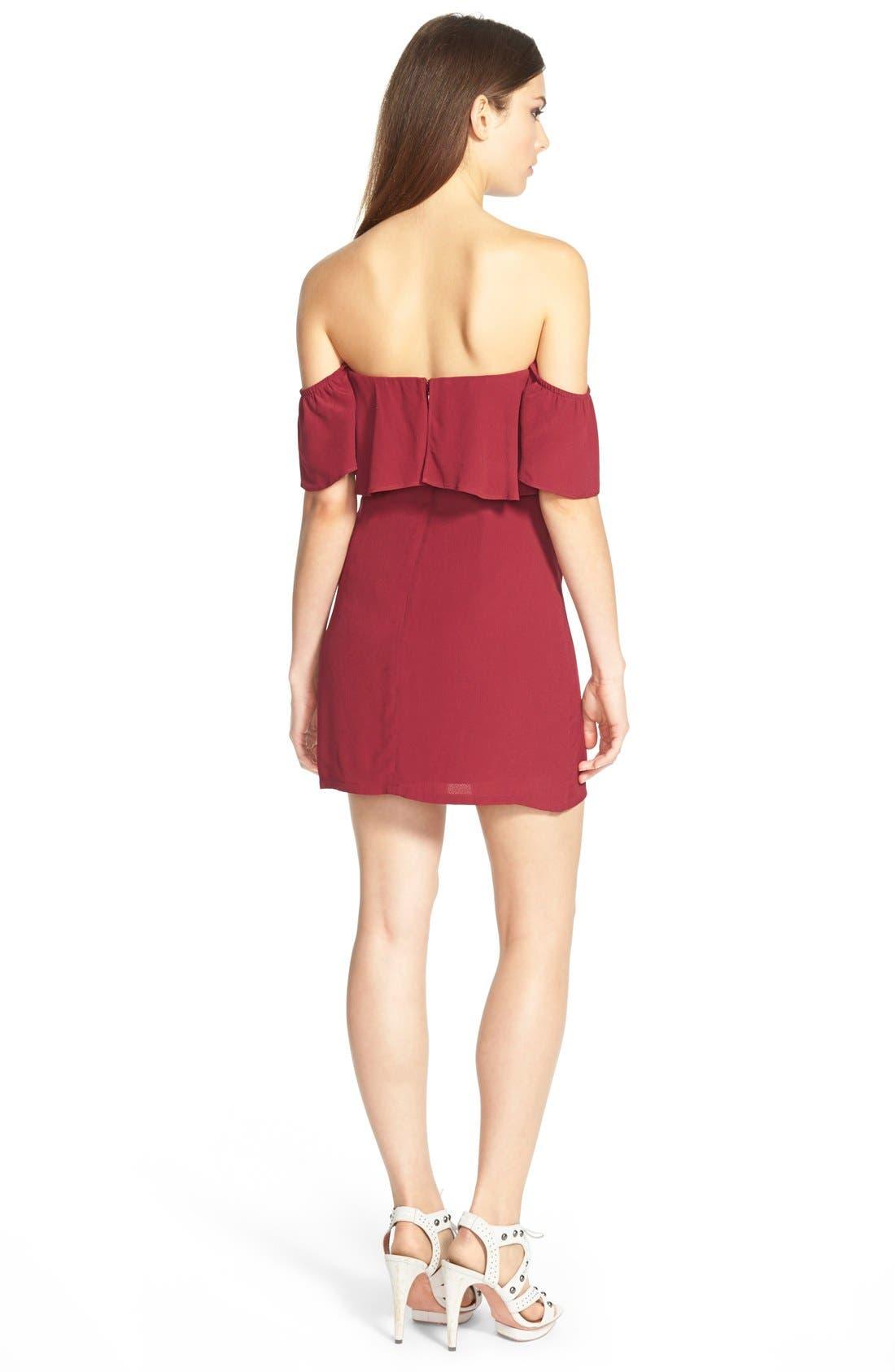 Alternate Image 2  - Lovers + Friends 'Primrose' Offthe Shoulder Dress