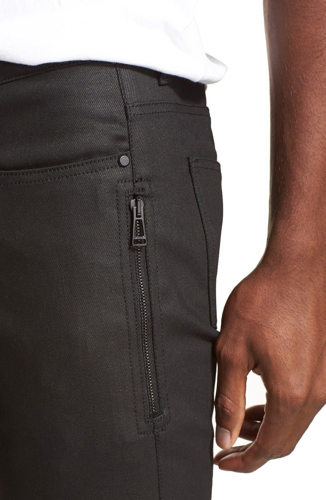 Alternate Image 5  - Belstaff 'Blackrod' Raw Stretch Denim Moto Jeans