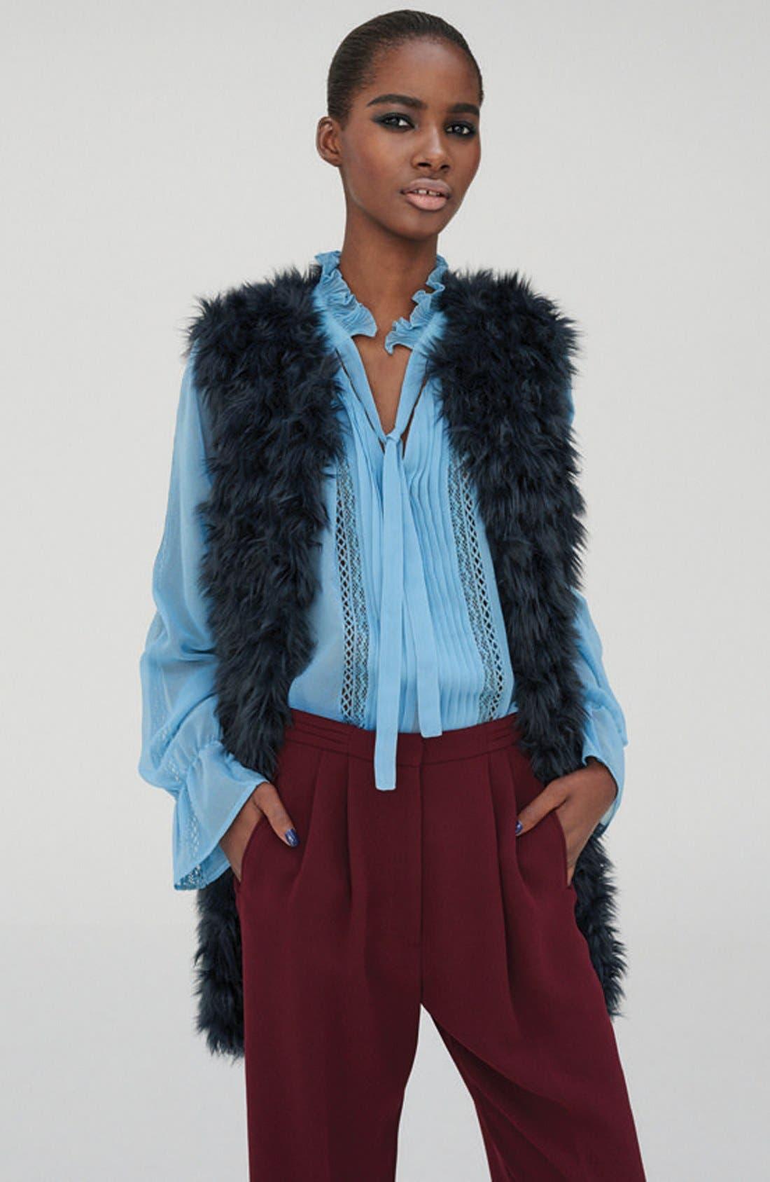 Alternate Image 5  - Topshop Shaggy Faux Fur Vest