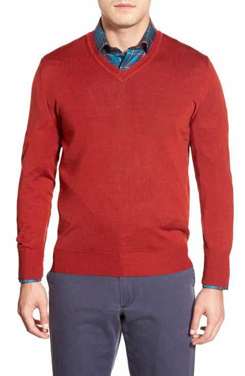 Robert Talbott 'Pasadera' Wool   Silk Blend V-Neck Sweater