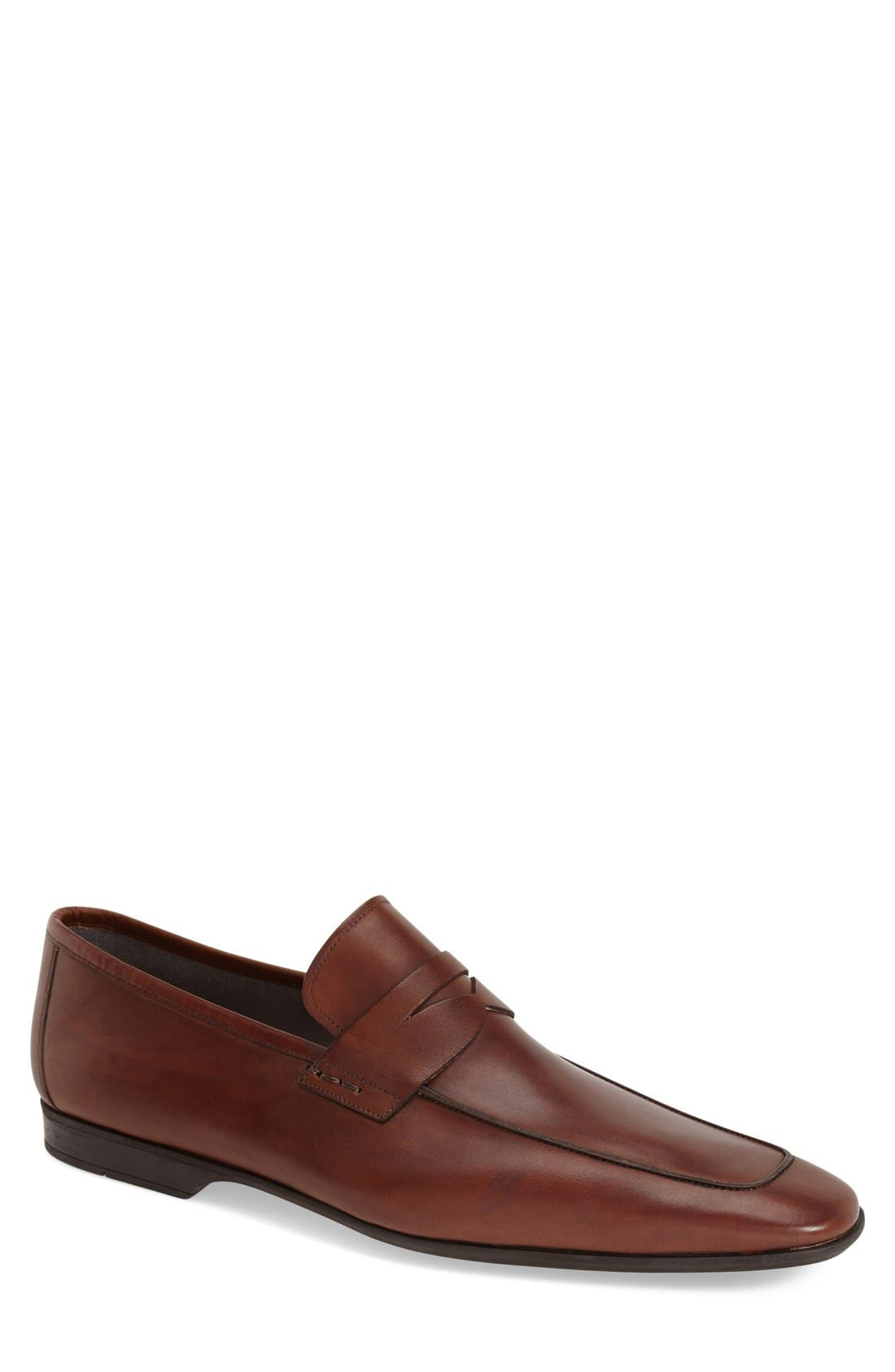 Alternate Image 1 Selected - Magnanni 'Ramiro' Penny Loafer (Men)