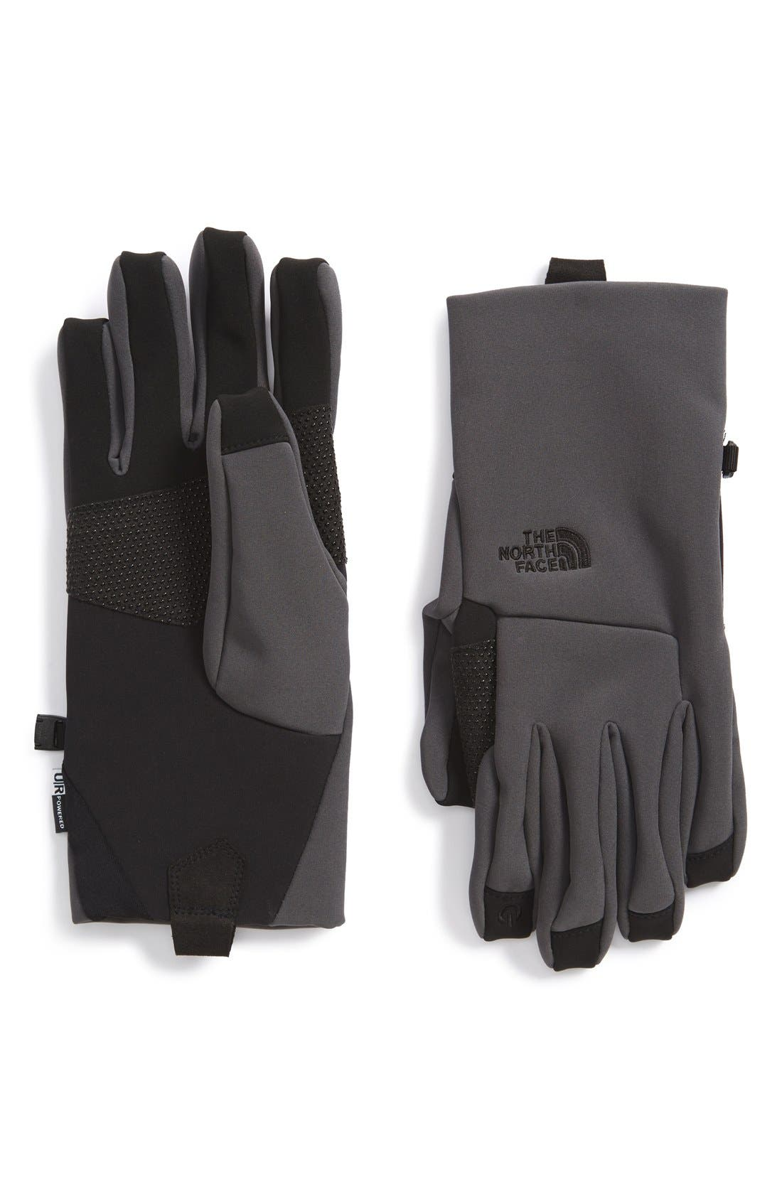 Main Image - The North Face 'eTip Apex' Waterproof ClimateBlock Gloves