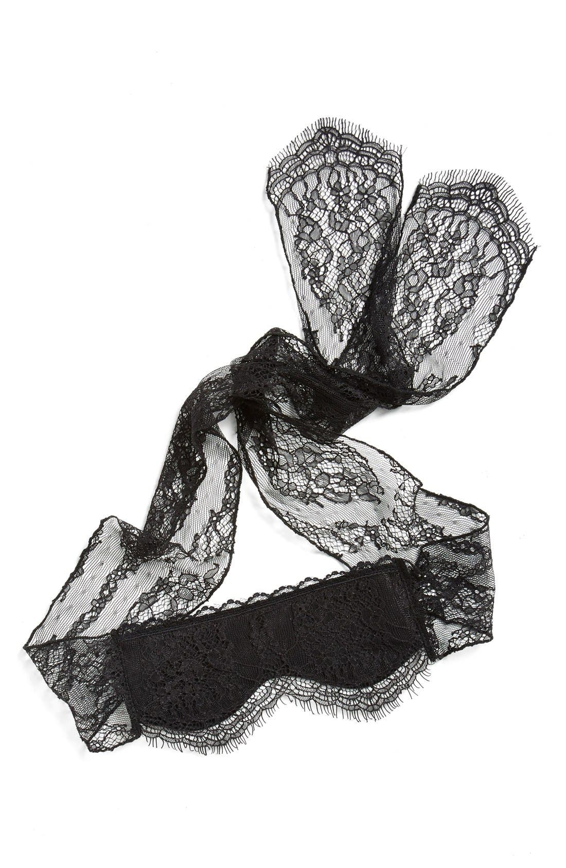 Alternate Image 1 Selected - Hanky Panky Lace Eye Mask