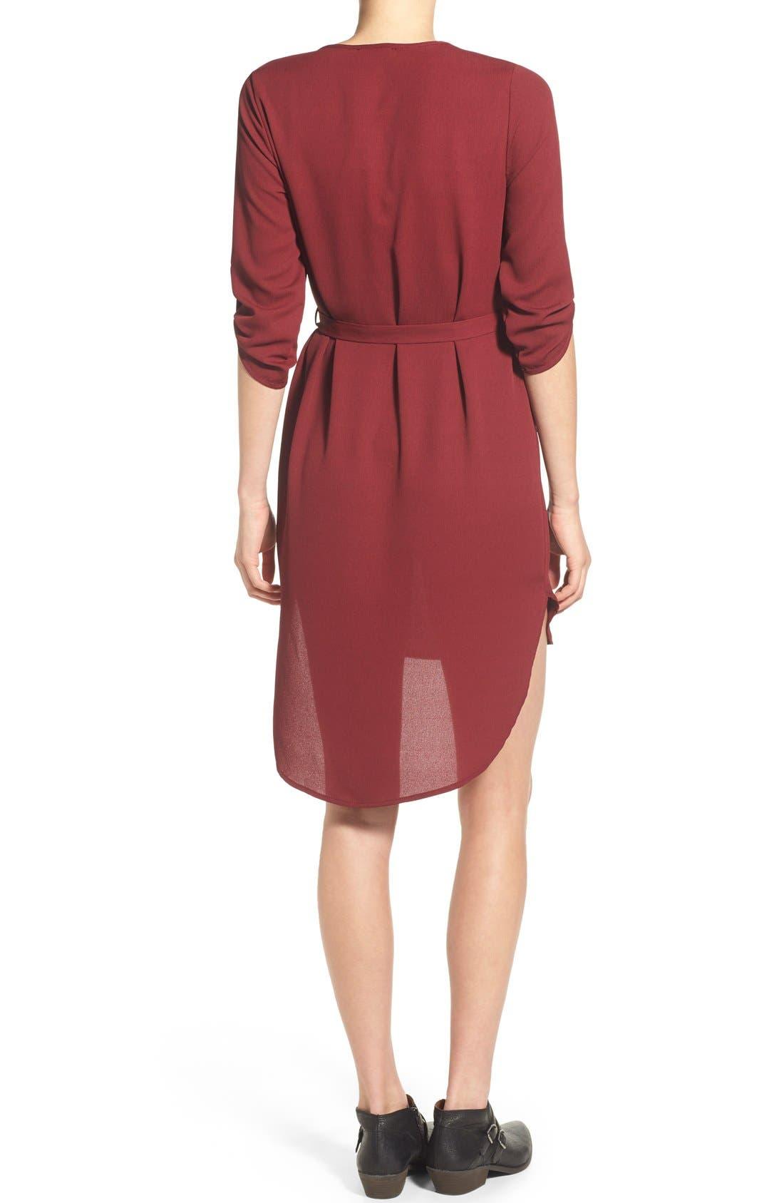 Alternate Image 2  - jella c. Henley Shirt Dress