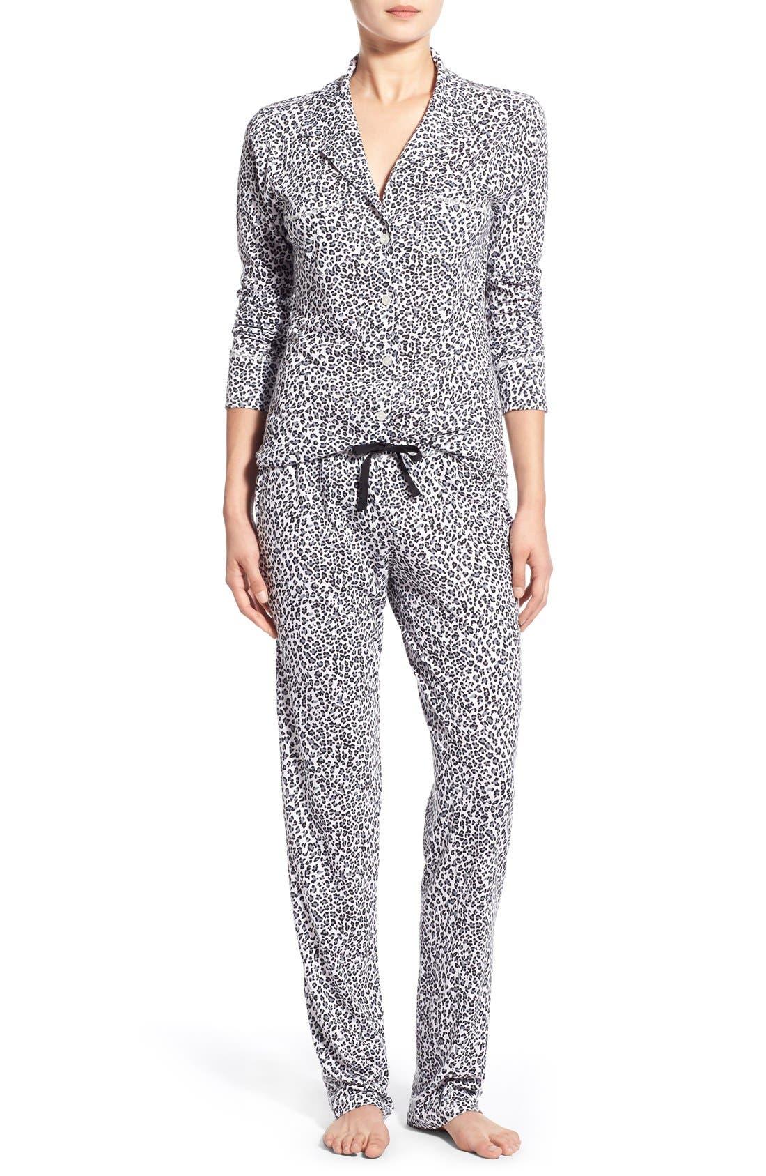 Alternate Image 1 Selected - Love+Grace 'Cassie' Print Pajamas