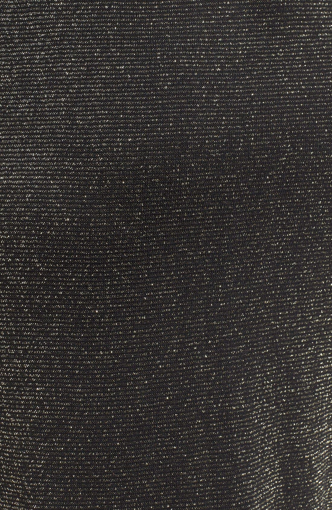 Alternate Image 5  - Speechless Metallic Long Sleeve Sweater Dress