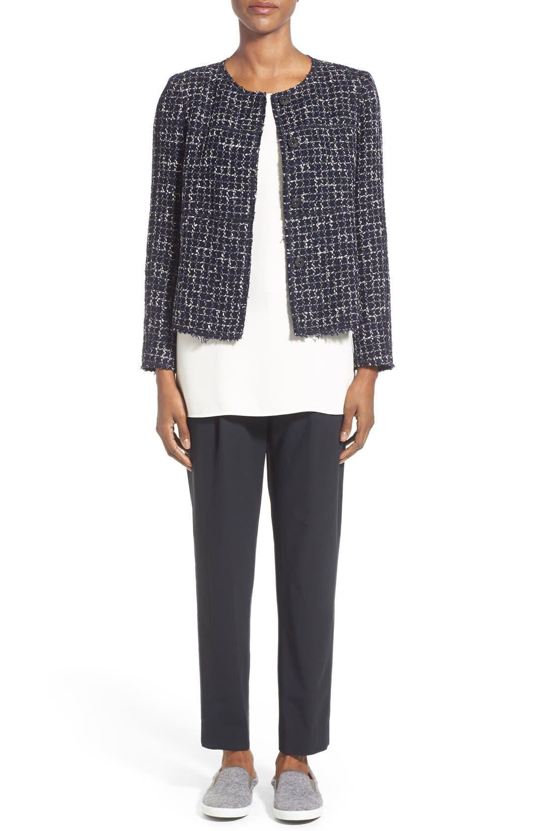 Alternate Image 2  - Lafayette 148 New York 'Dani - Tempered Tweed' Jacket (Regular & Petite)