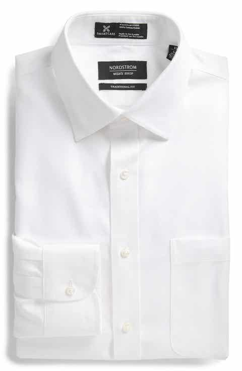 Nordstrom Men's Shop Smartcare™ Traditional Fit Solid Dress Shirt