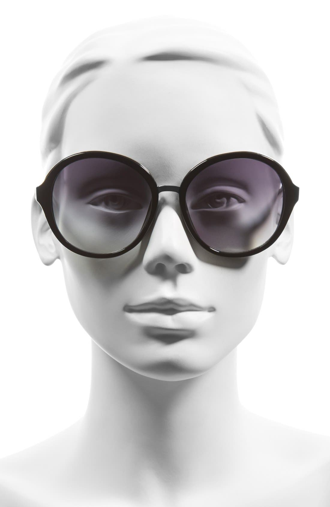 Alternate Image 4  - BP. 60mm Oversized Round Sunglasses