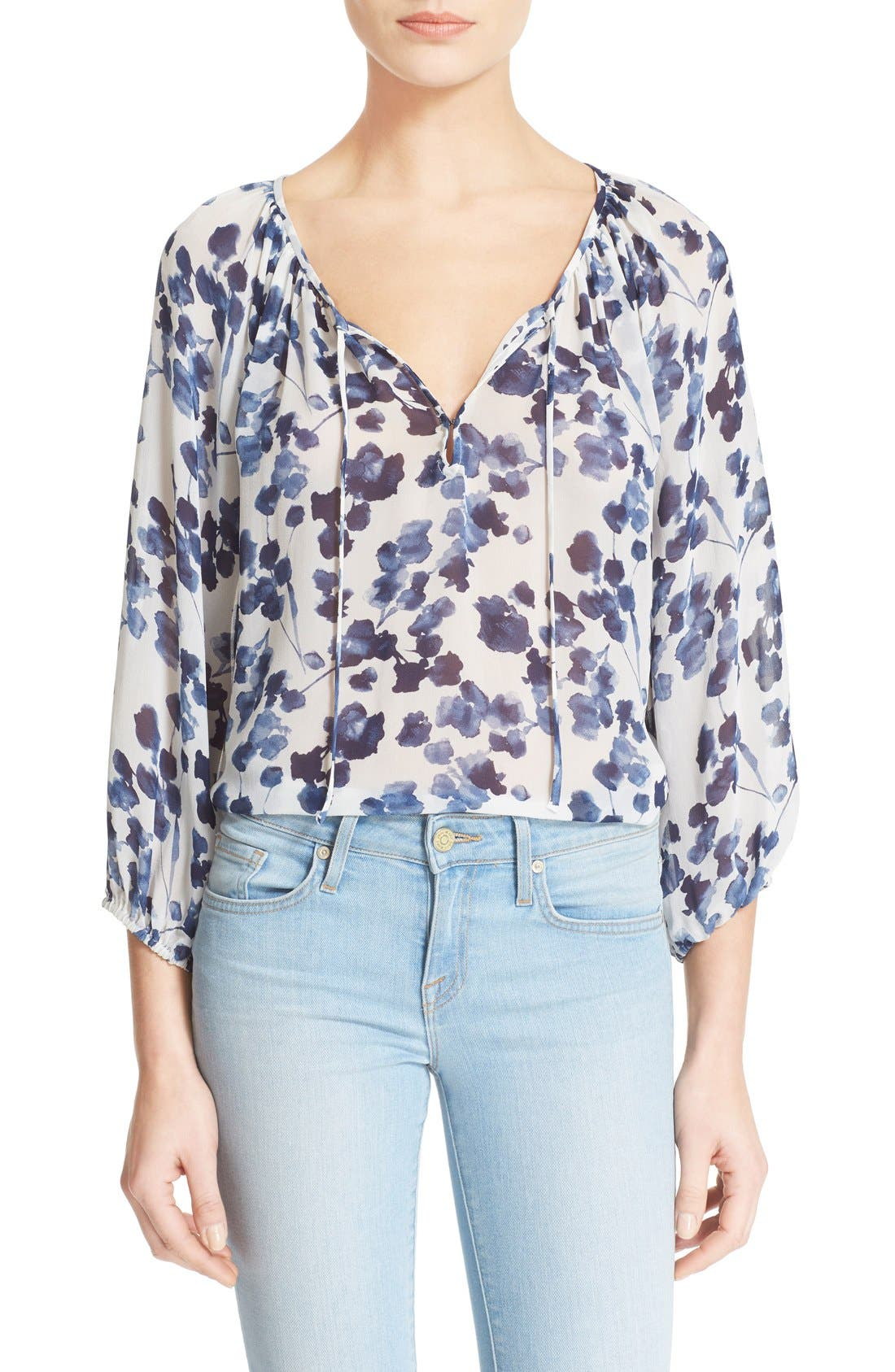 Alternate Image 1 Selected - Joie 'Roachan' Floral Print Blouse (Nordstrom Exclusive)