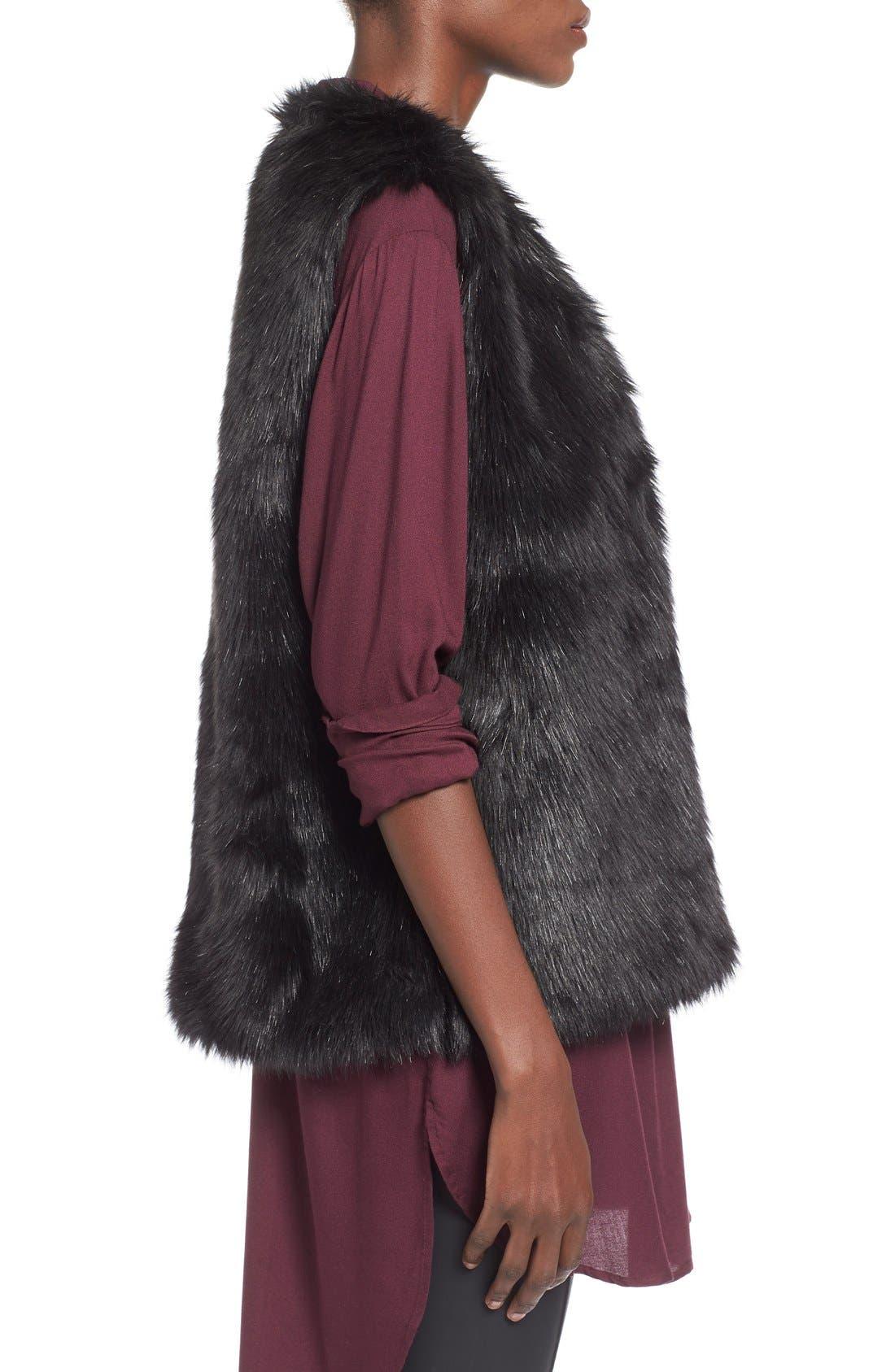 Alternate Image 3  - WAYF Faux Fur Vest