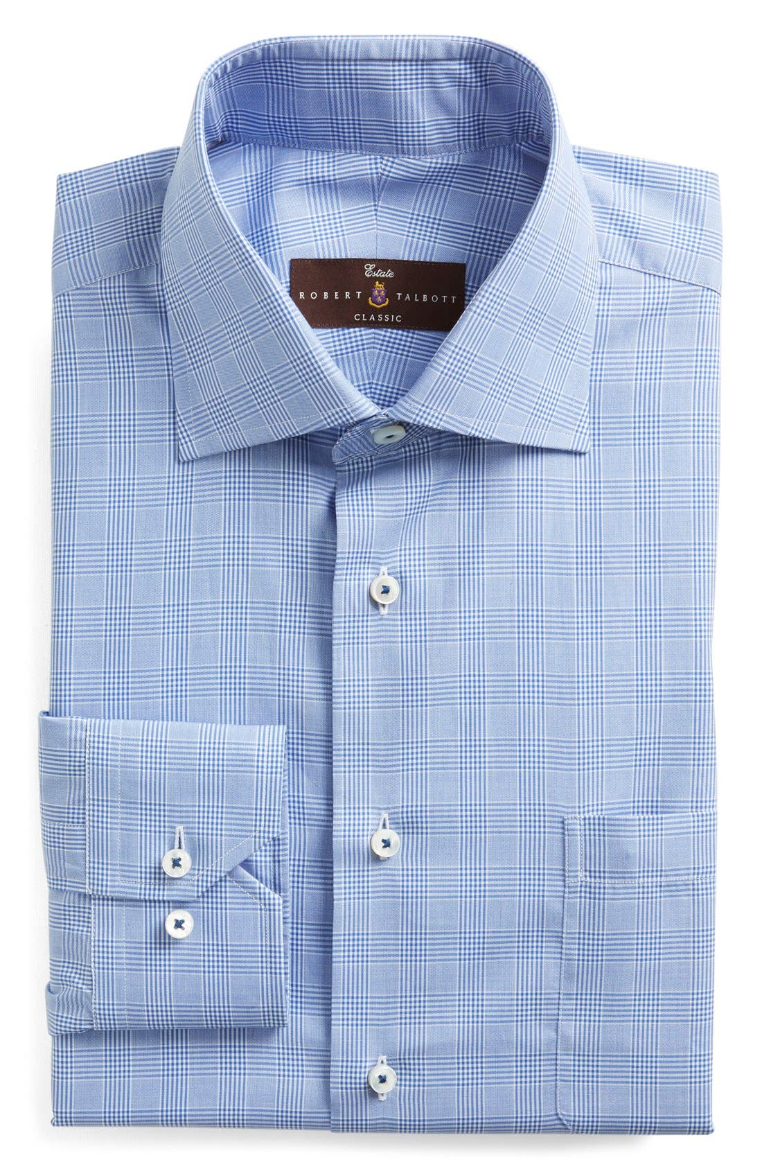 Robert Talbott Classic Fit Check Dress Shirt