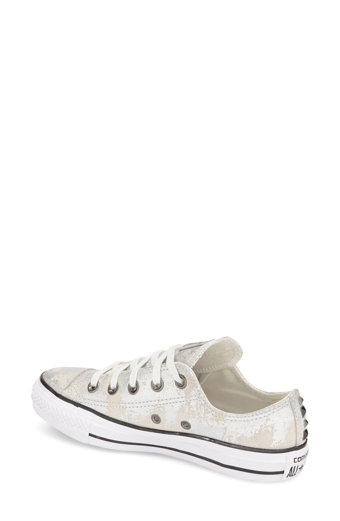 Alternate Image 2  - Converse Chuck Taylor® All Star® 'Pyramid' Leather Sneaker (Women)