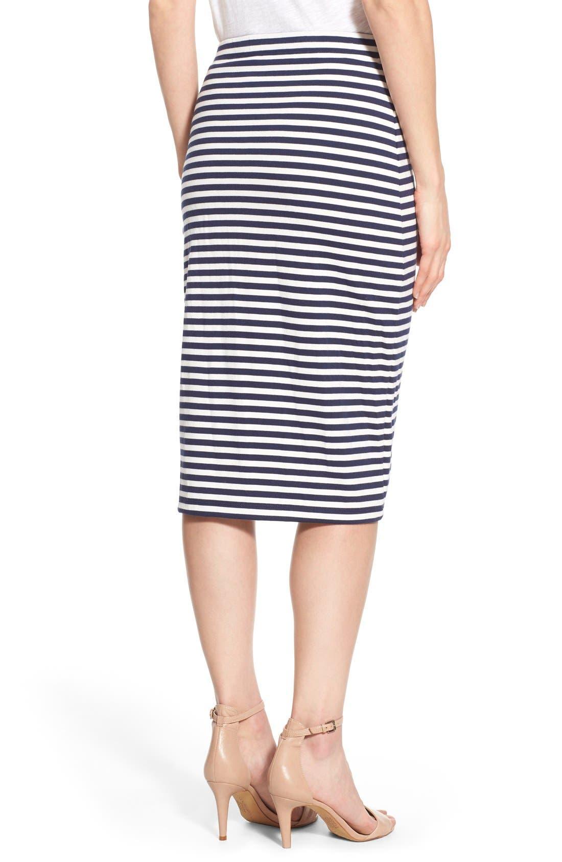 Alternate Image 3  - Caslon® Zip Detail Tube Skirt