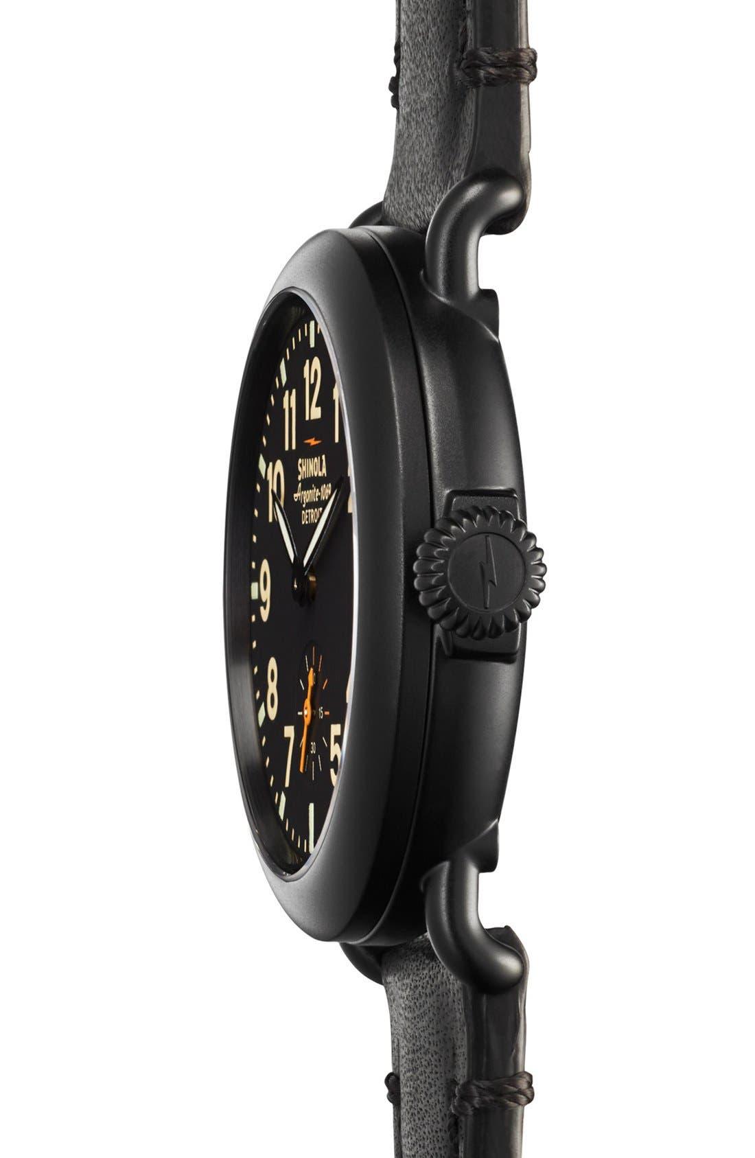 Alternate Image 3  - Shinola 'The Runwell' Leather Strap Watch, 36mm