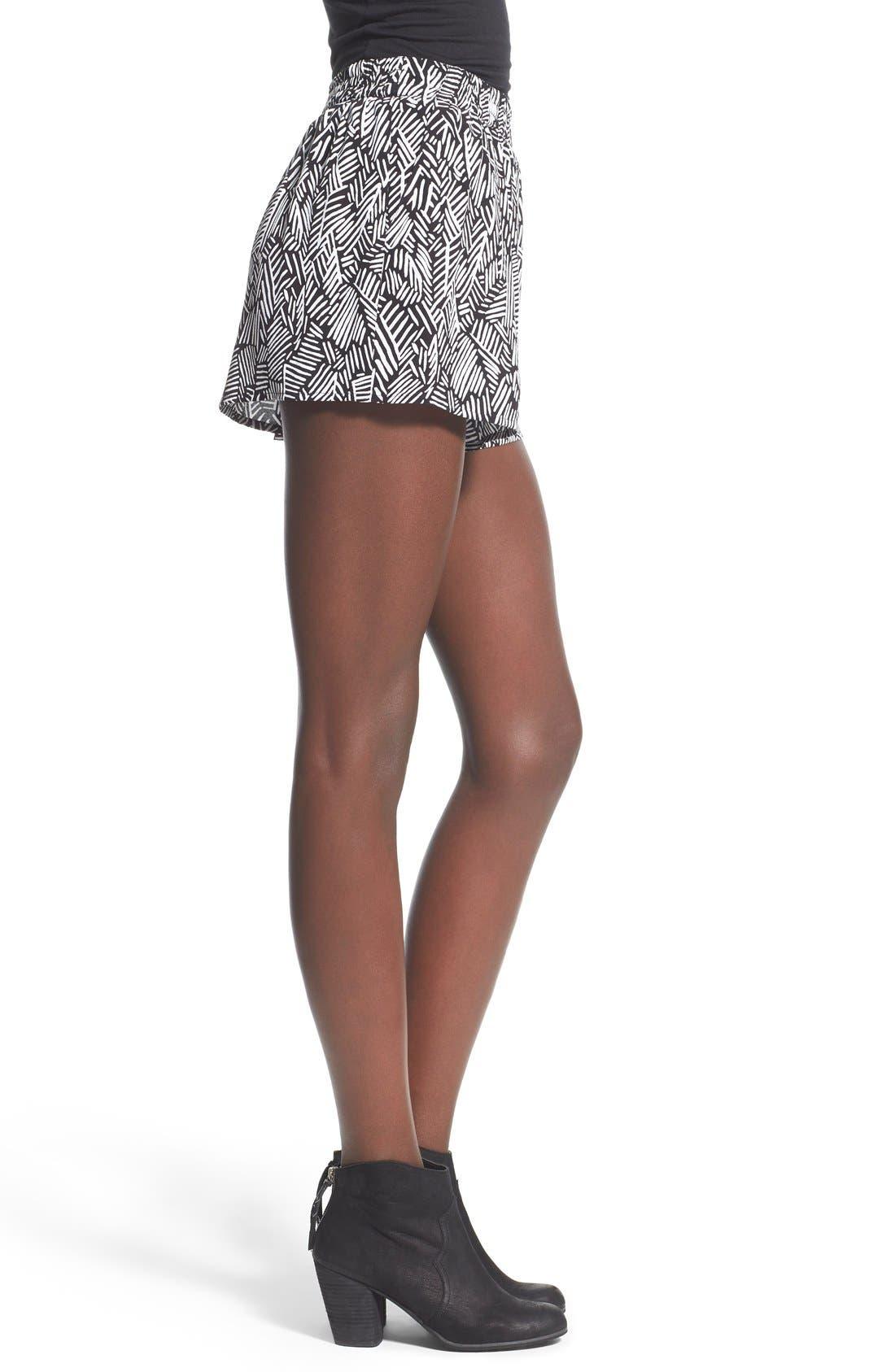 Alternate Image 3  - BP. Woven Print Shorts
