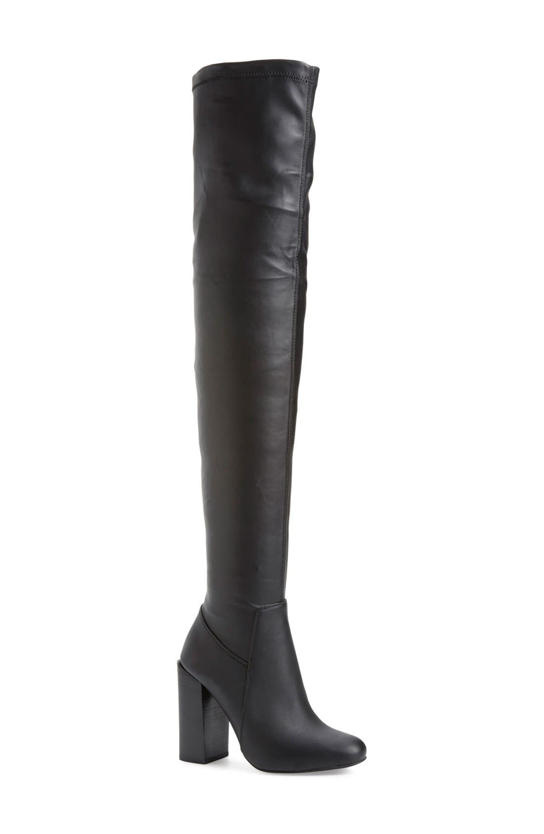 Main Image - JeffreyCampbell 'Perouze' Over the Knee Boot (Women)