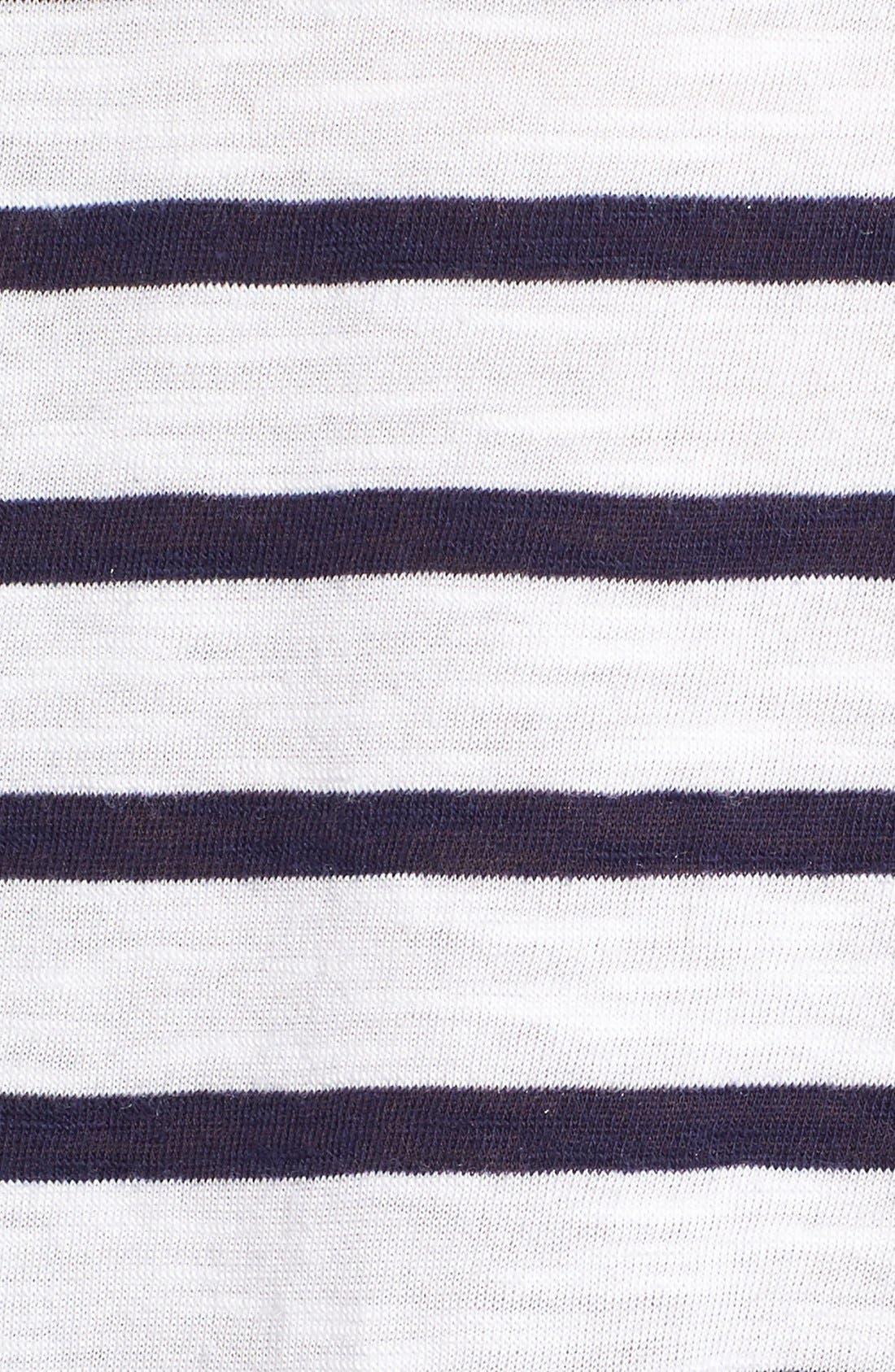 Alternate Image 5  - BP. Stripe Three-Quarter Sleeve Tee