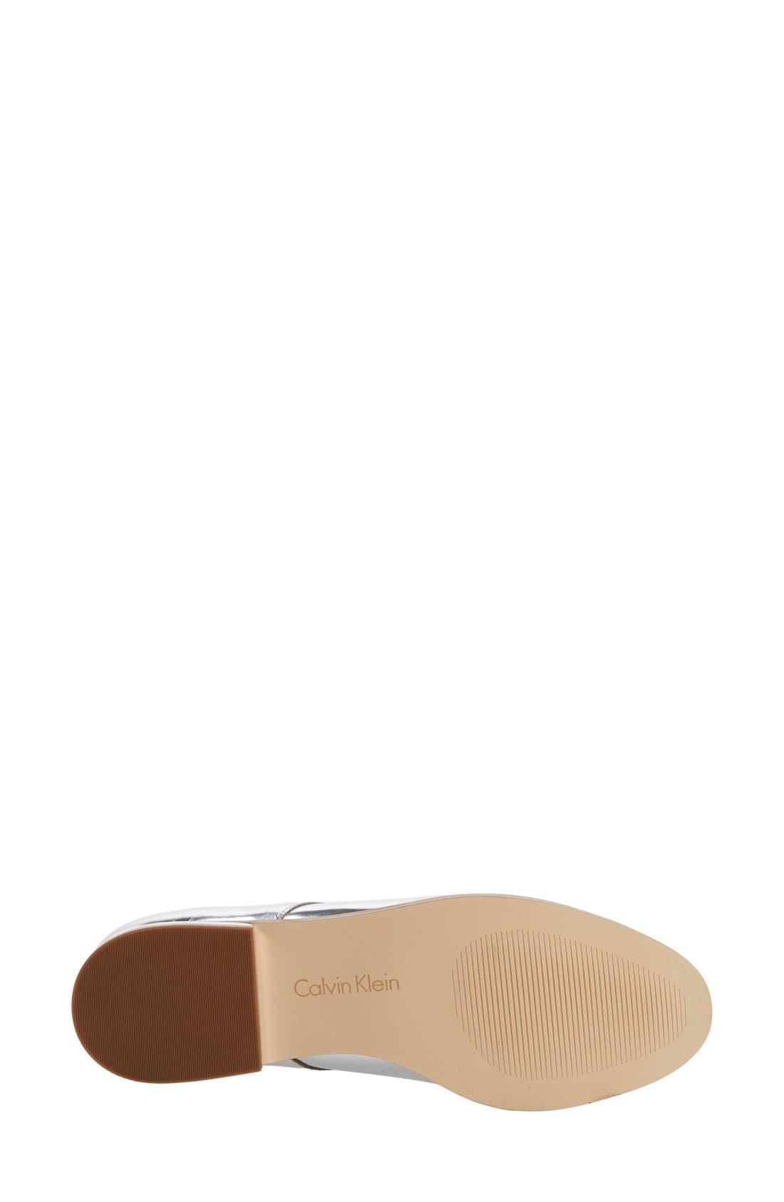 Alternate Image 4  - Calvin Klein 'Camella' Oxford (Women)