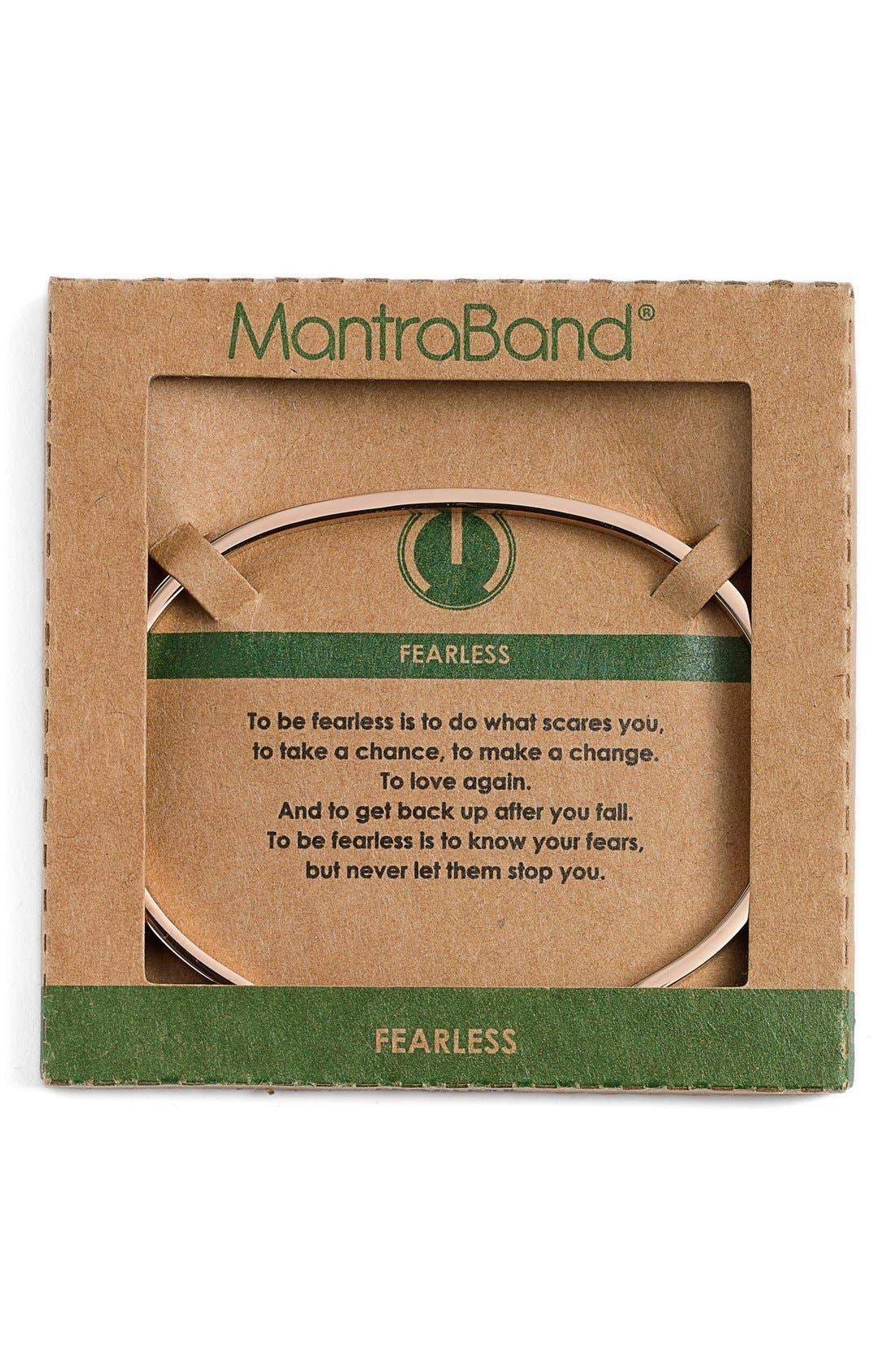Alternate Image 2  - MantraBand® 'Fearless' Cuff
