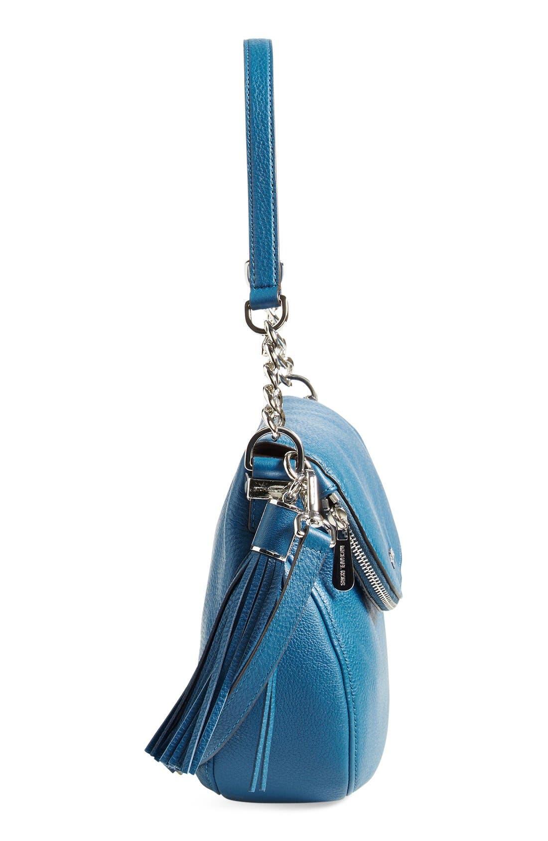 Alternate Image 4  - MICHAEL Michael Kors 'Bedford Tassel - Medium' Shoulder Bag (Nordstrom Exclusive)