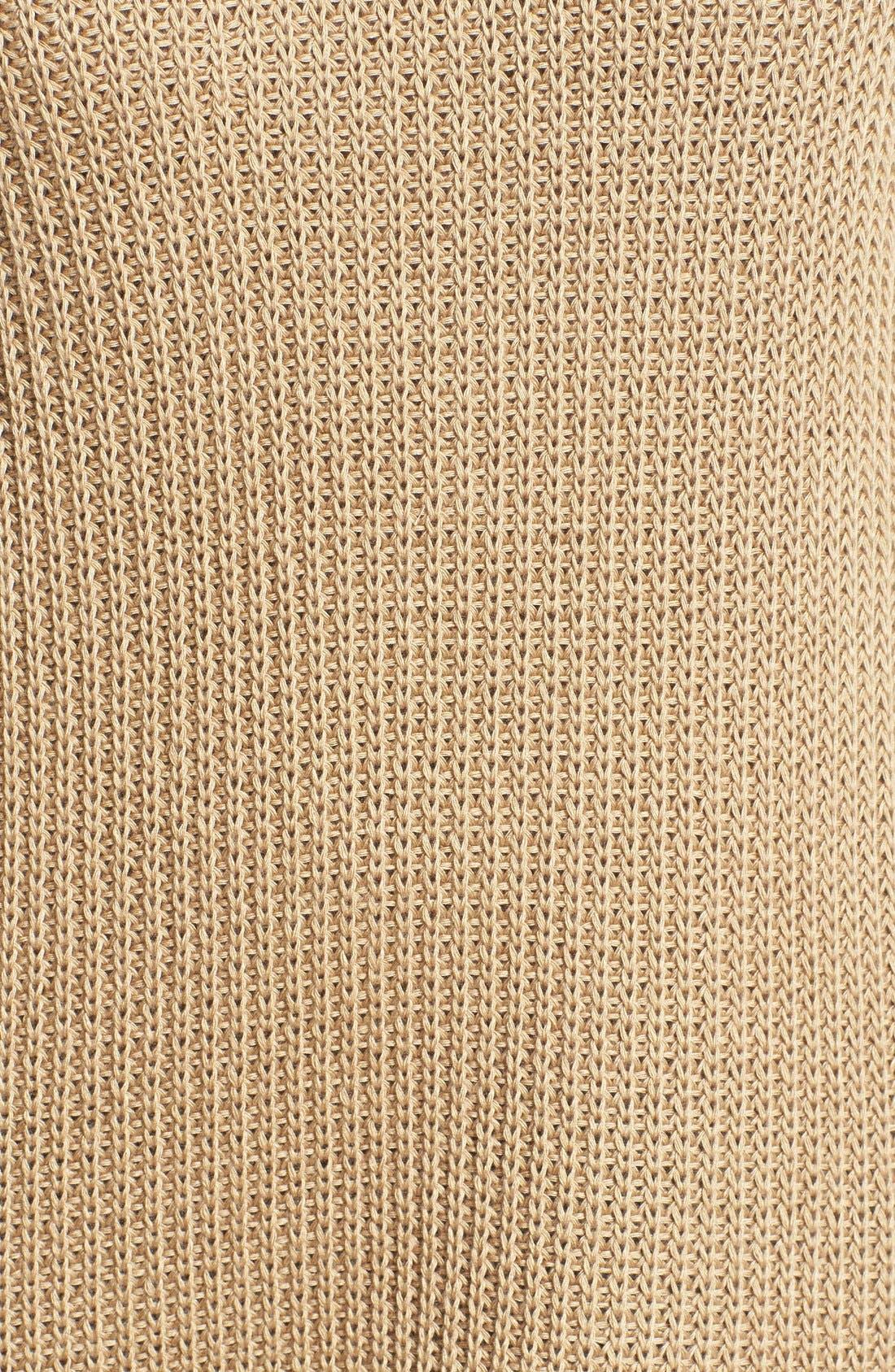 Alternate Image 5  - Cotton Emporium Crewneck Sweater Dress