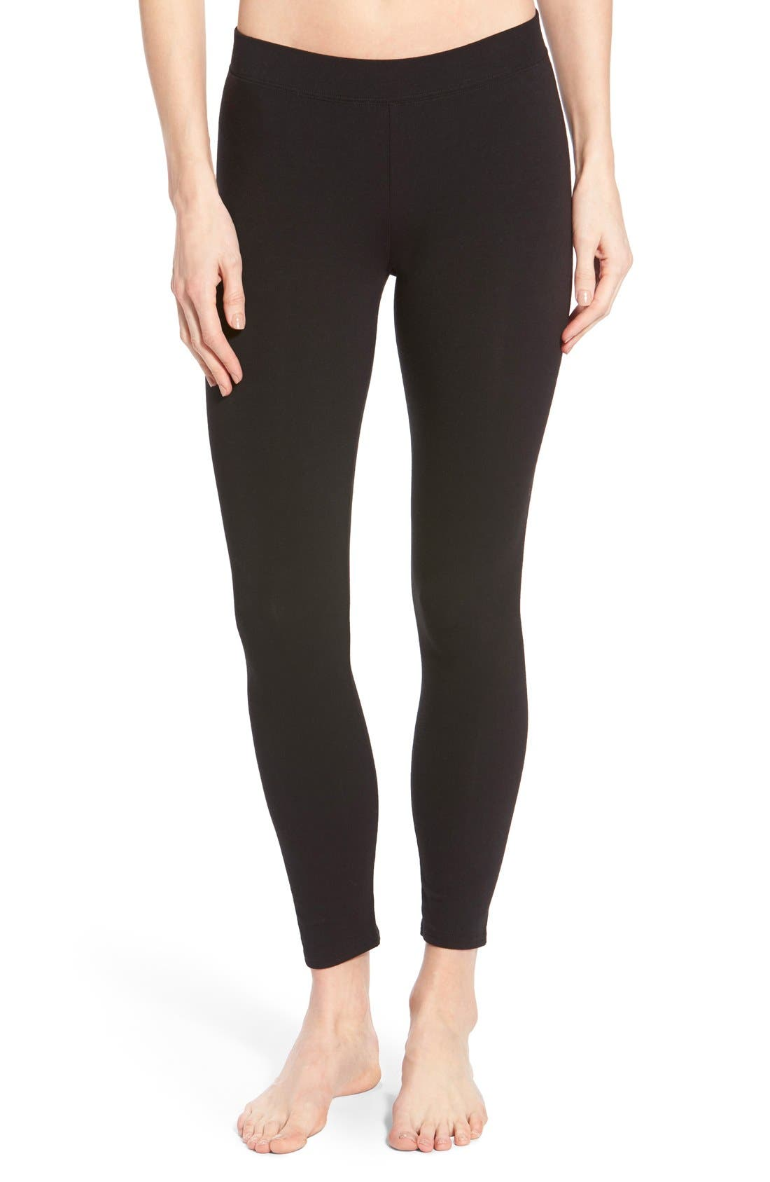 Alternate Image 1 Selected - Nordstrom Go-To Skimmer Ankle Leggings