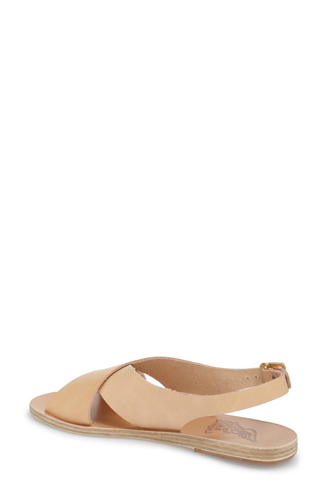 Alternate Image 2  - Ancient Greek Sandals 'Maria' Leather Slingback Sandal