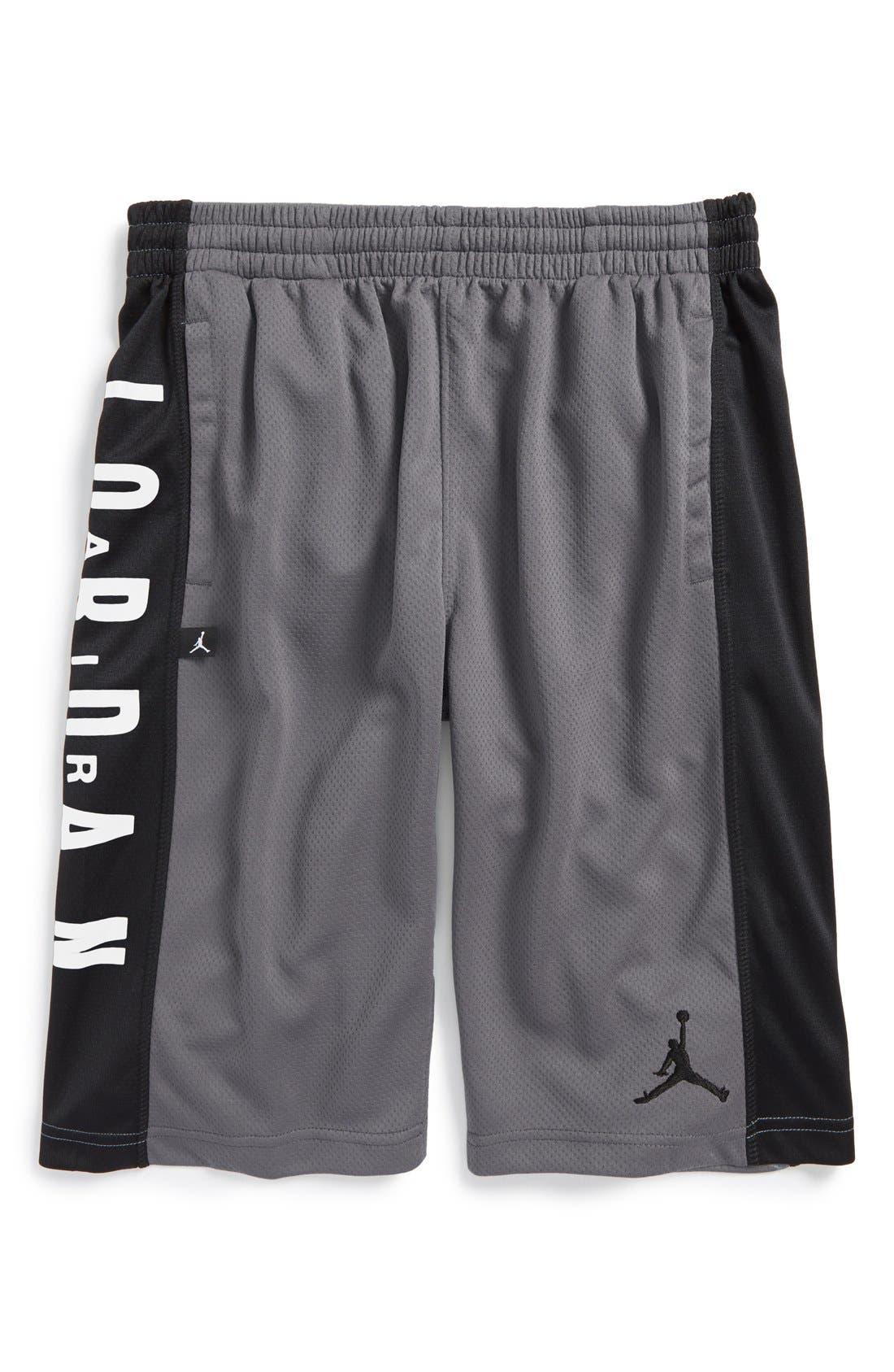 Alternate Image 1 Selected - Jordan 'Highlight' Basketball Shorts (Big Boys)