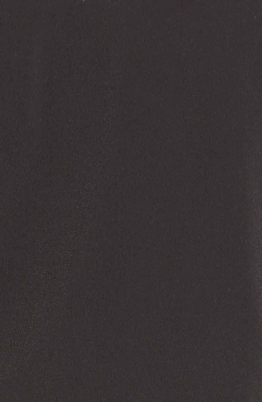 Alternate Image 5  - MICHAEL Michael Kors Belted Border Print Jersey Strapless Jumpsuit