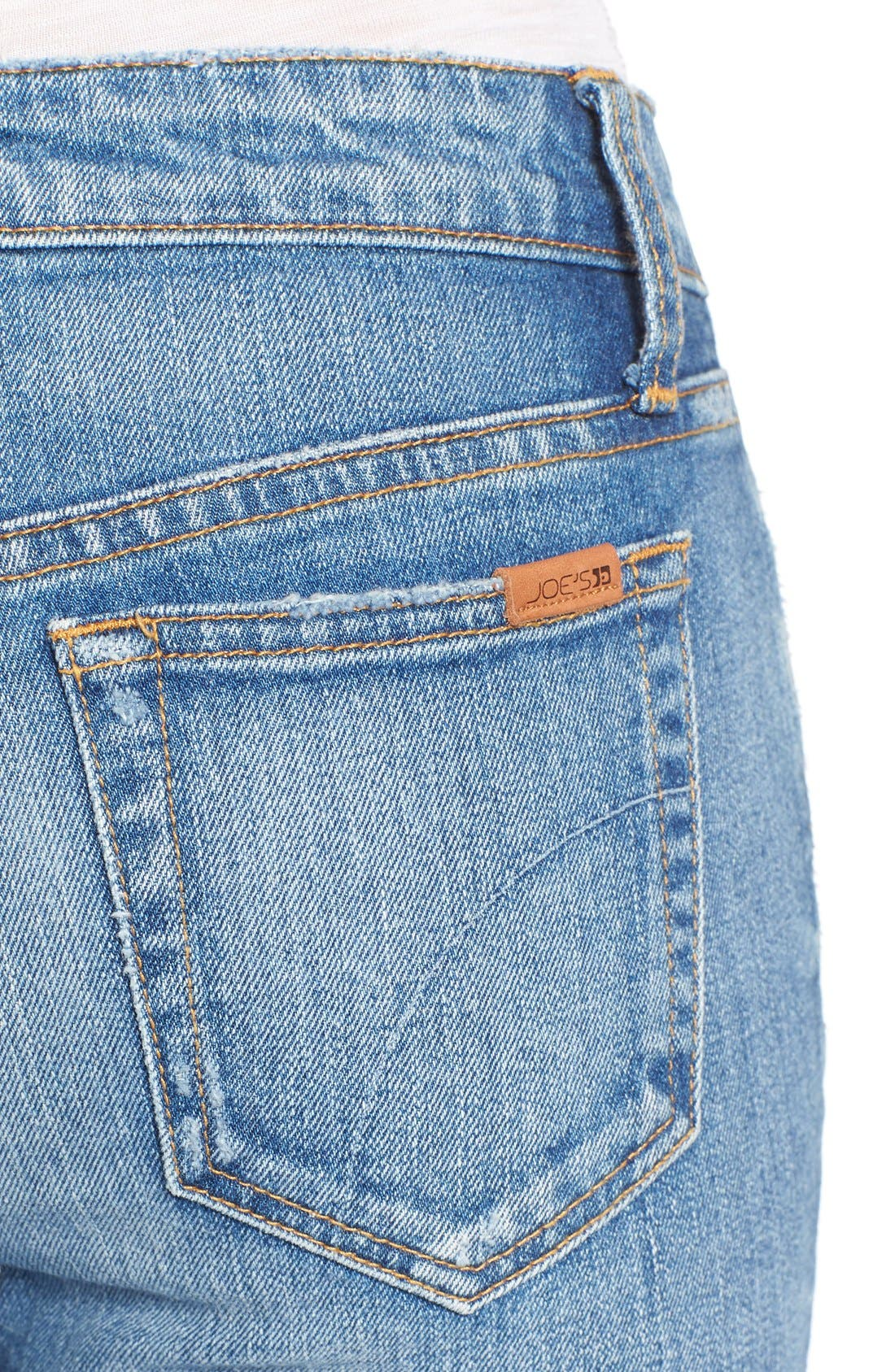 Alternate Image 4  - Joe's 'Collector's - Icon' Destroyed Ankle Skinny Jeans (Mazie)